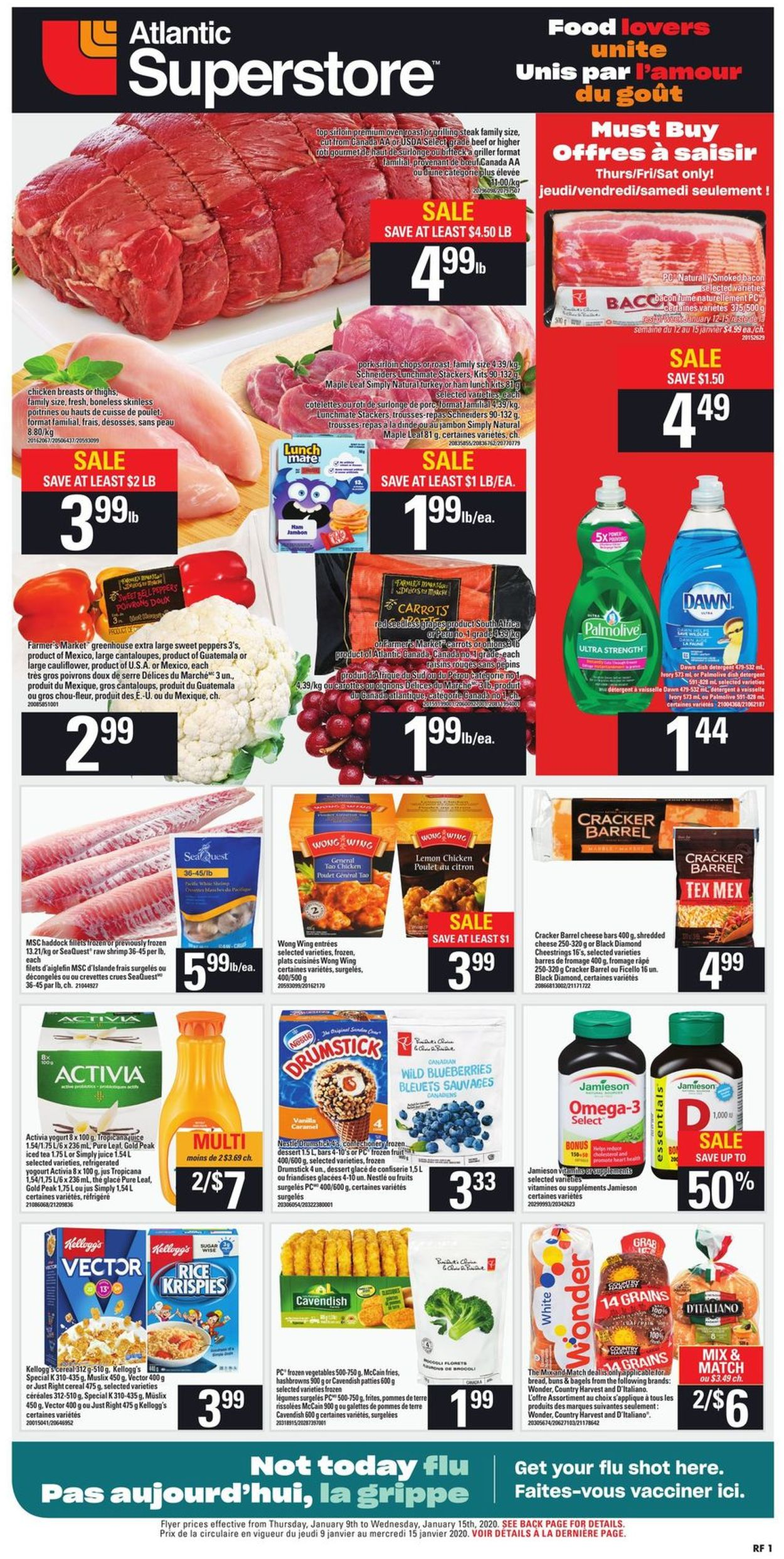Atlantic Superstore Flyer - 01/09-01/15/2020