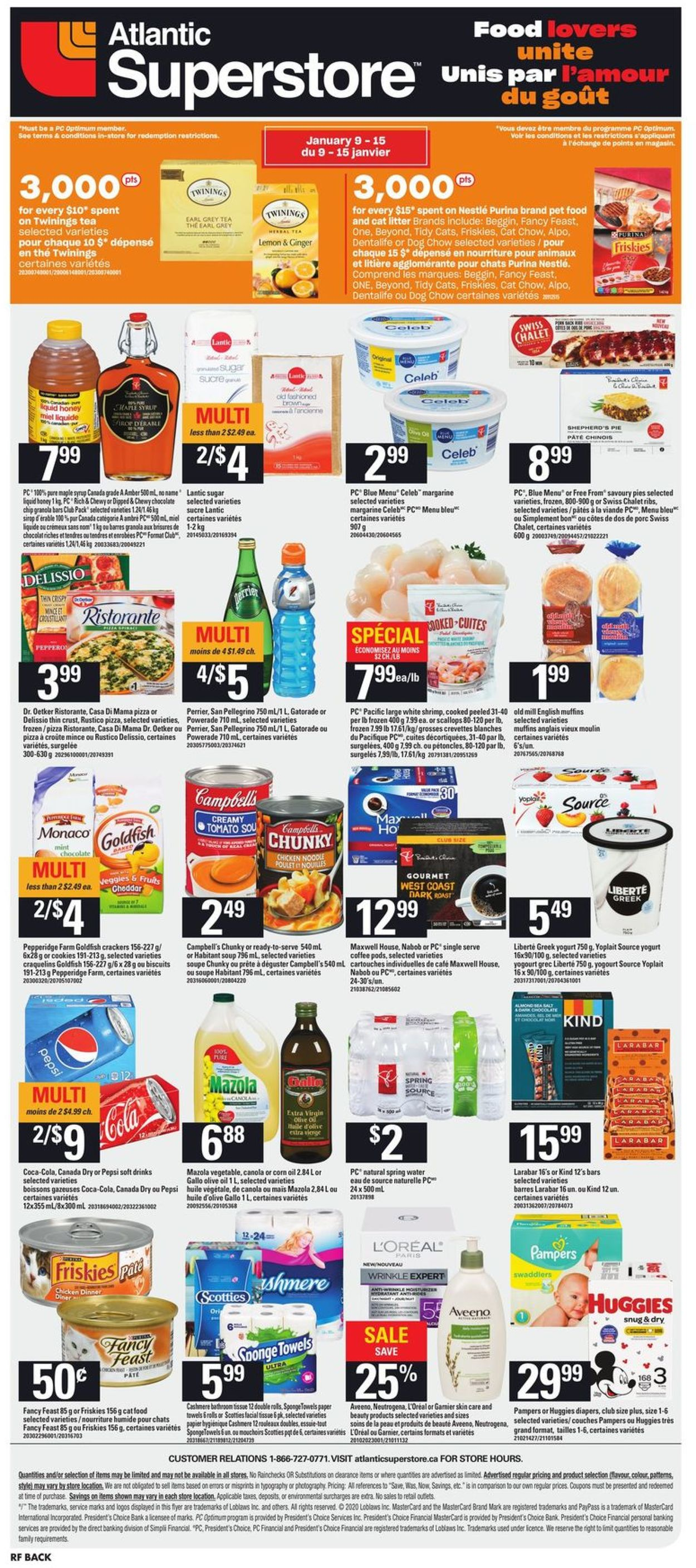 Atlantic Superstore Flyer - 01/09-01/15/2020 (Page 14)