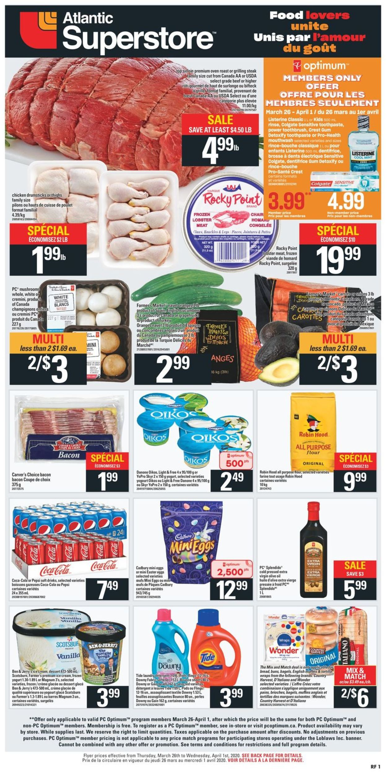 Atlantic Superstore Flyer - 03/26-04/01/2020