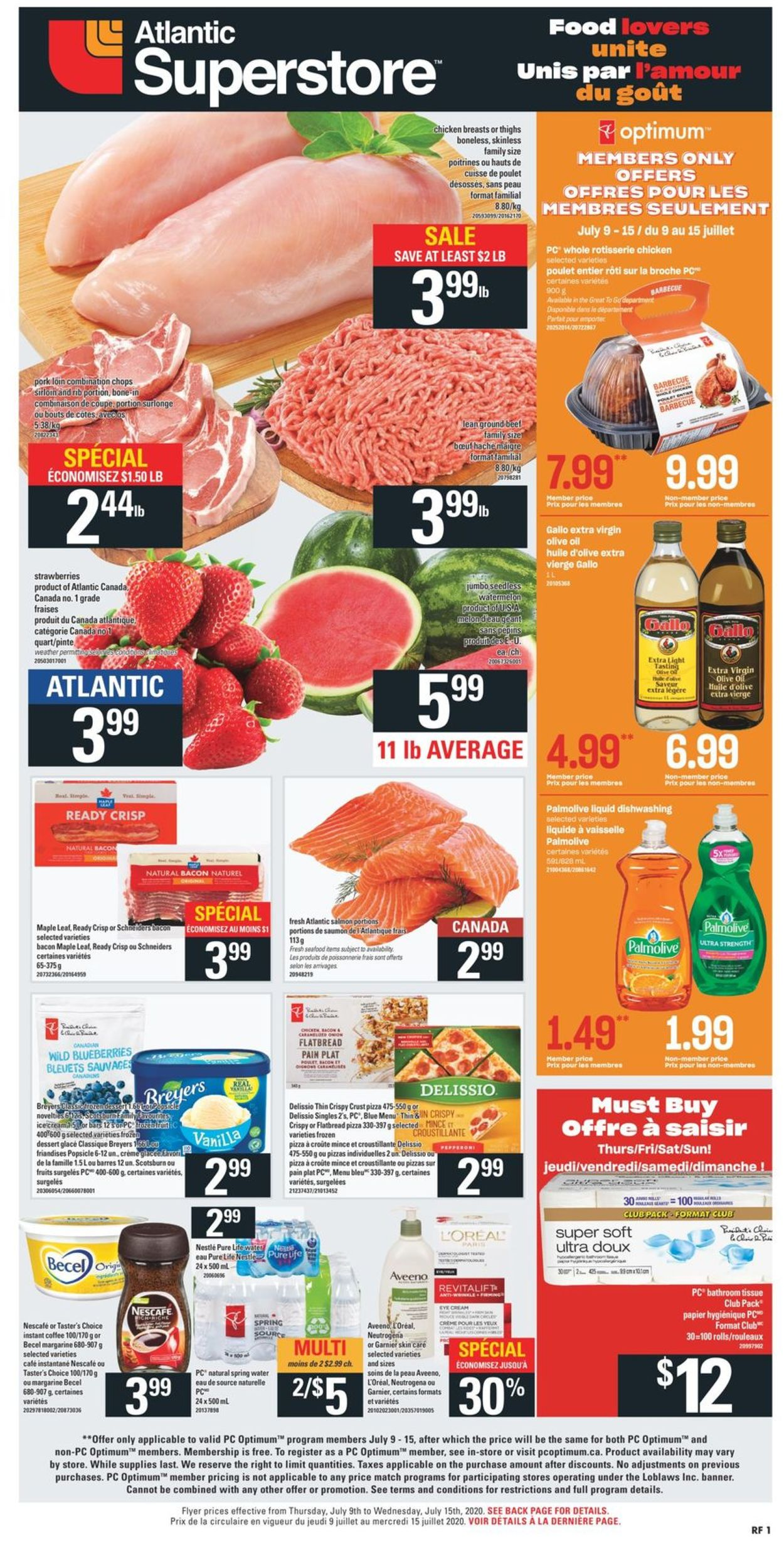 Atlantic Superstore Flyer - 07/09-07/15/2020