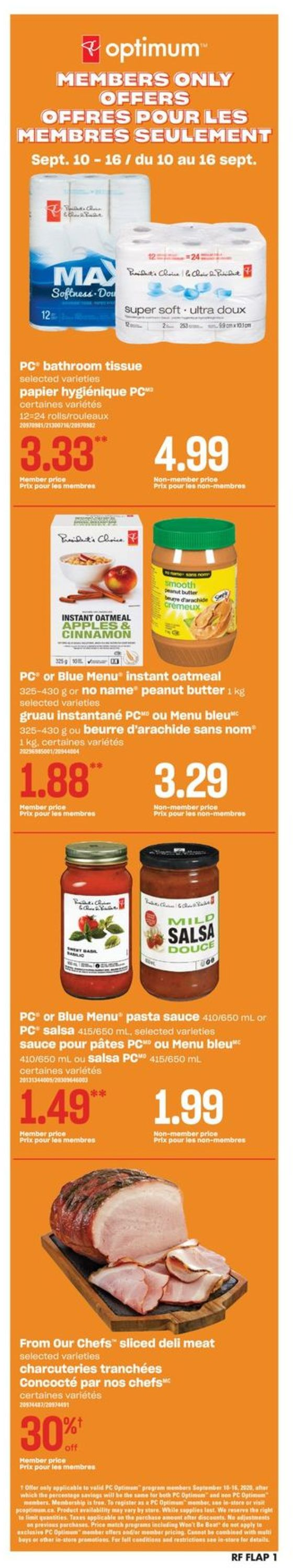 Atlantic Superstore Flyer - 09/10-09/16/2020