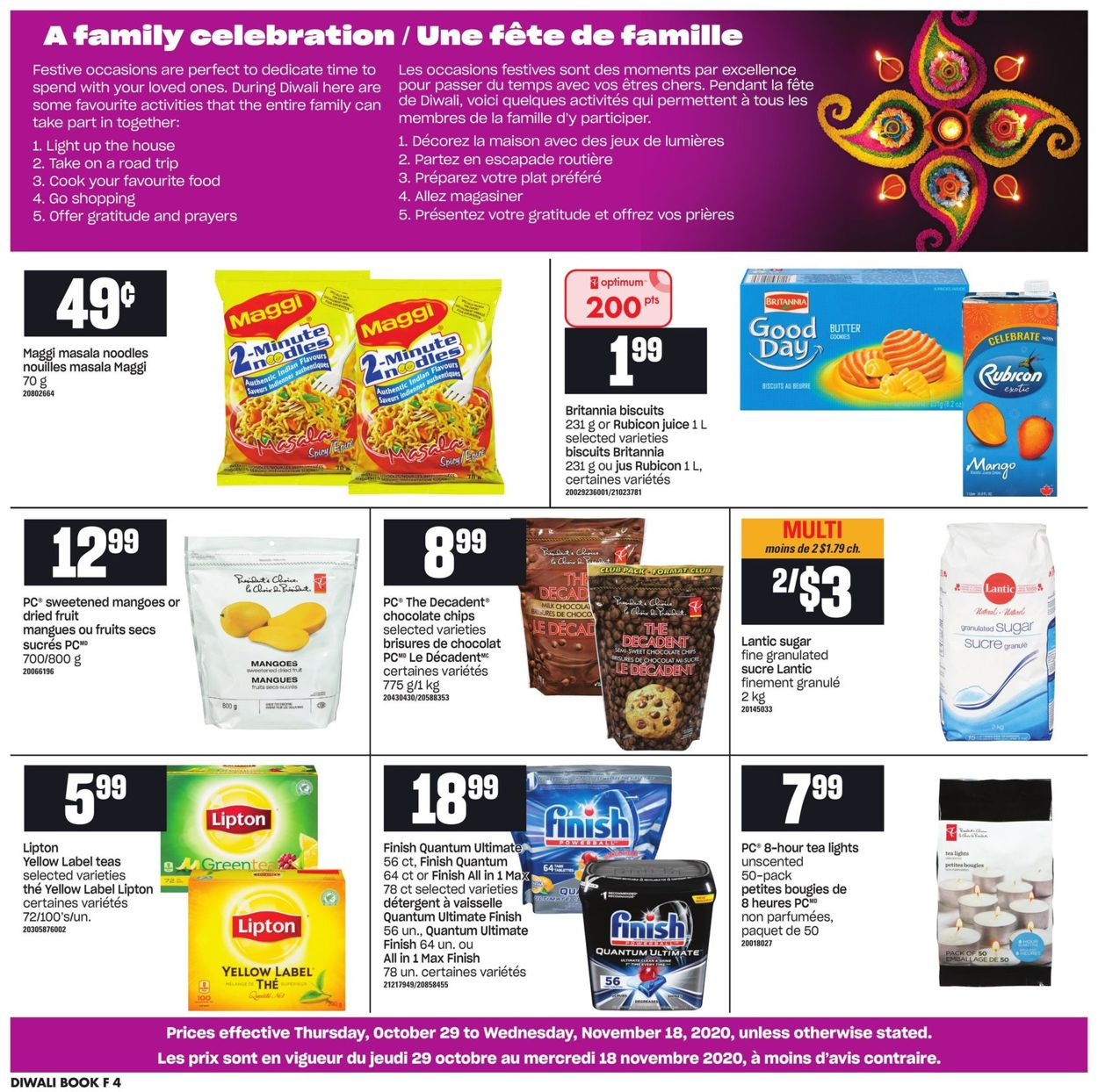 Atlantic Superstore Flyer - 10/29-11/18/2020 (Page 4)