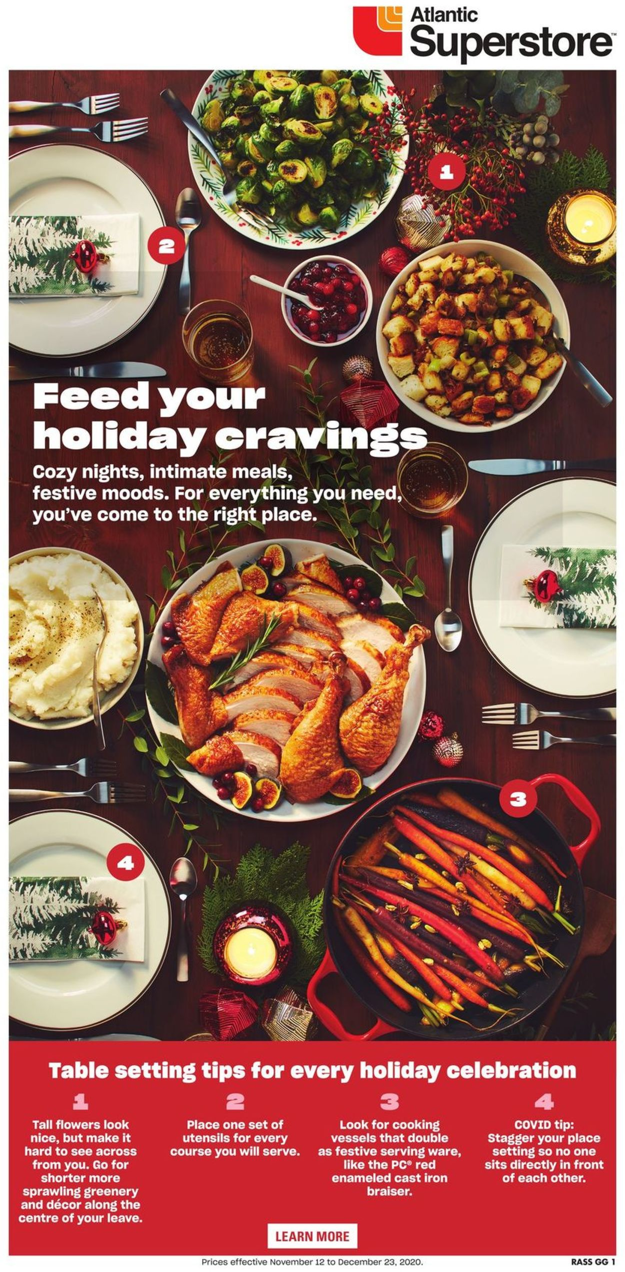 Atlantic Superstore - Holiday 2020 Flyer - 11/12-12/23/2020
