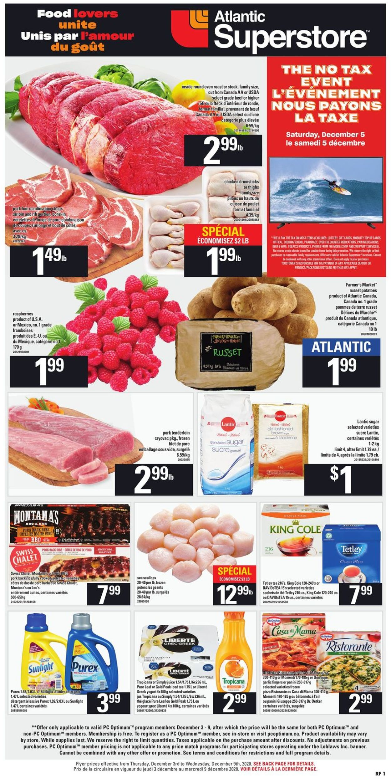 Atlantic Superstore - Holiday 2020 Flyer - 12/03-12/09/2020 (Page 3)