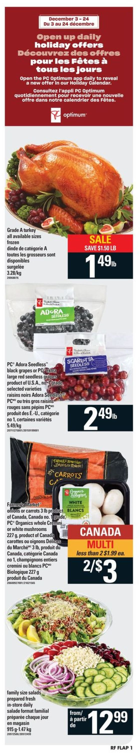 Atlantic Superstore - Holiday 2020 Flyer - 12/10-12/16/2020