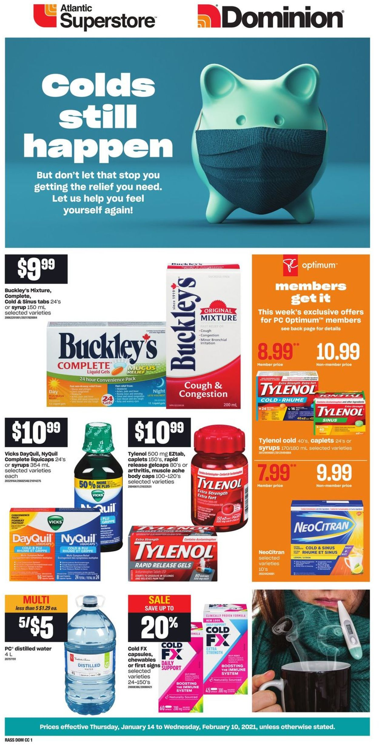 Atlantic Superstore - Cough & Cold Flyer - 01/14-02/10/2021