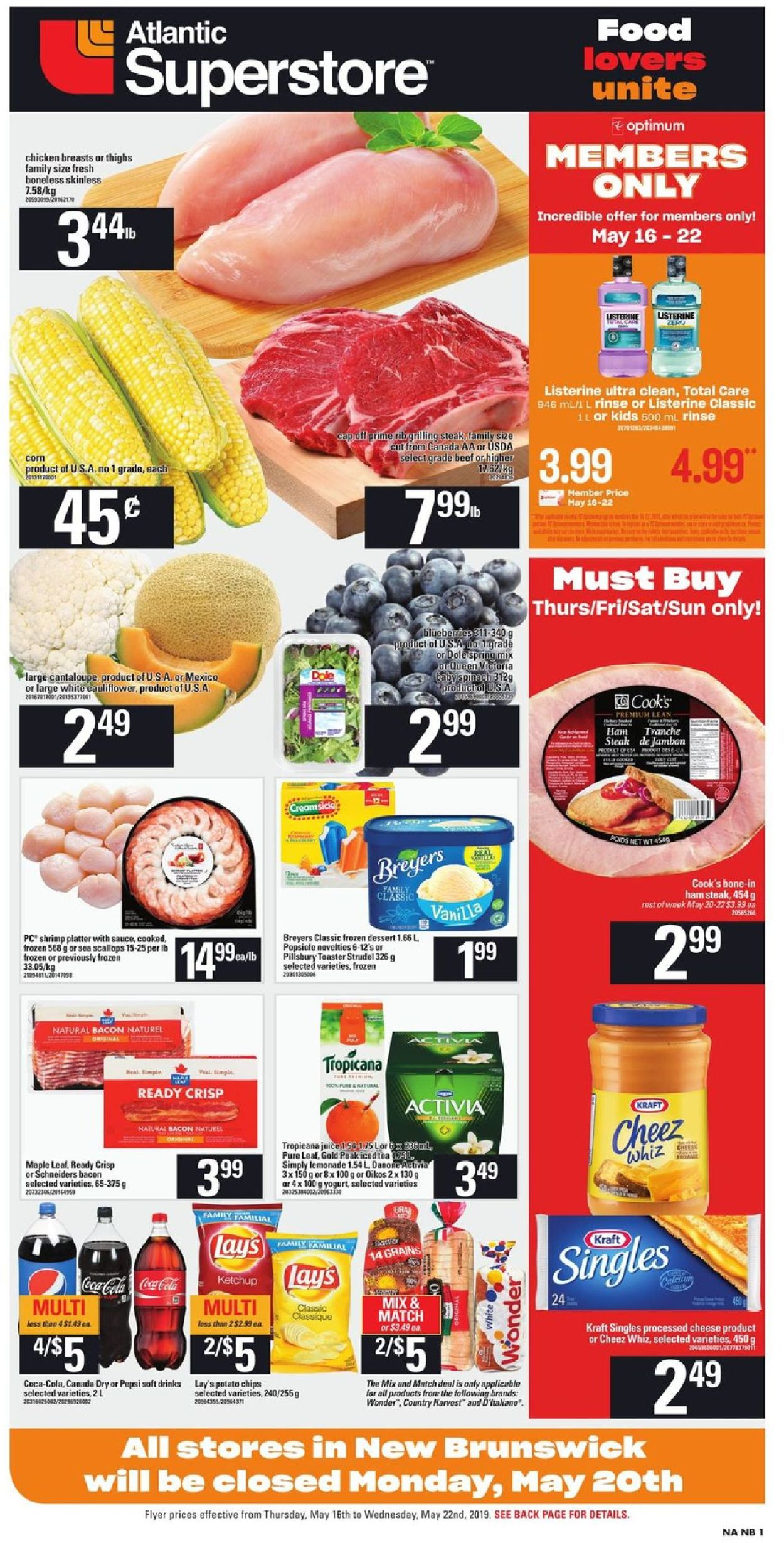 Atlantic Superstore Flyer - 05/16-05/22/2019