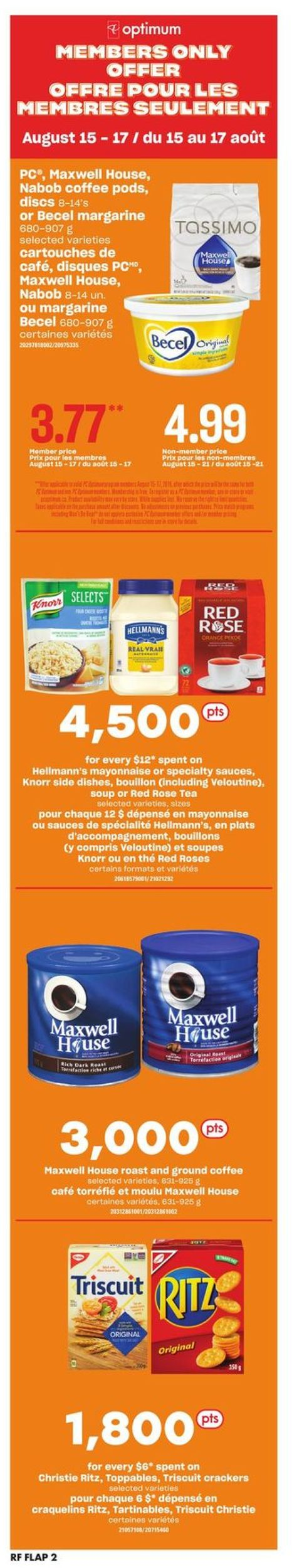Atlantic Superstore Flyer - 08/15-08/21/2019 (Page 2)