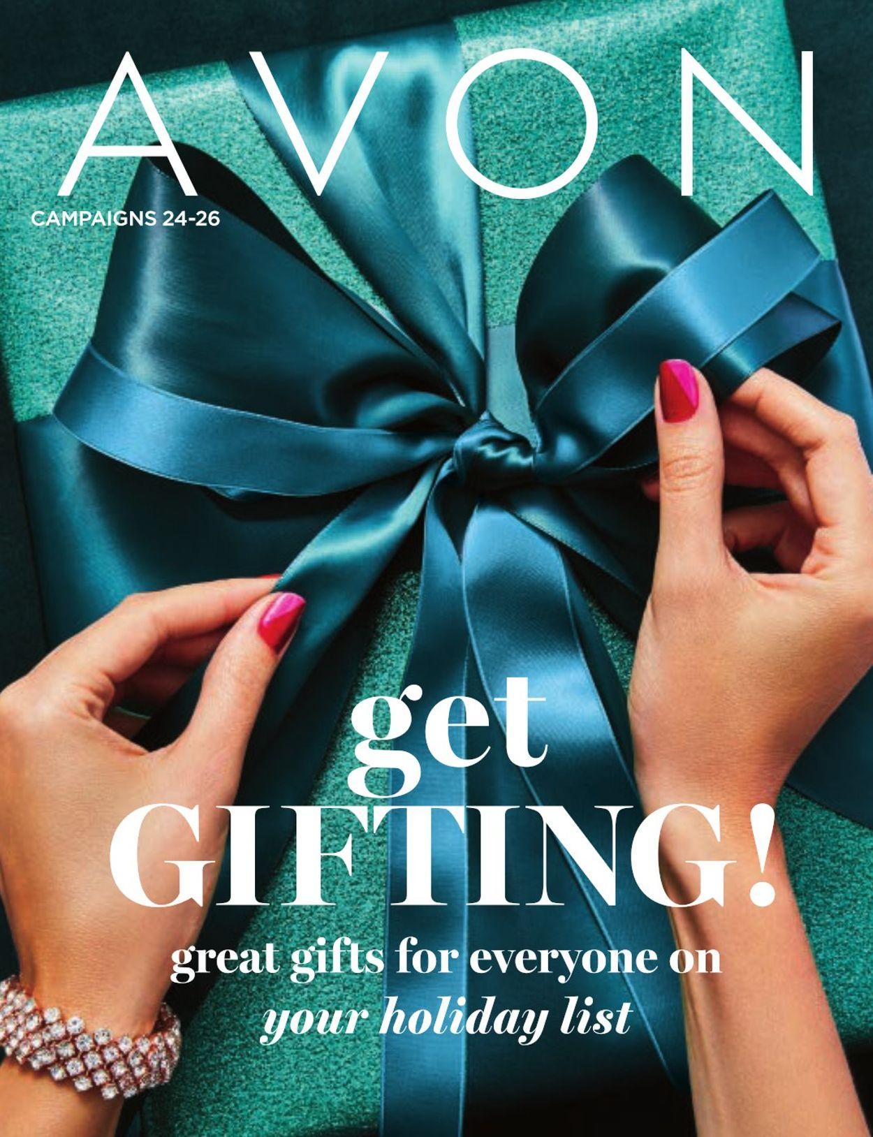 Avon Flyer - 10/31-11/21/2019