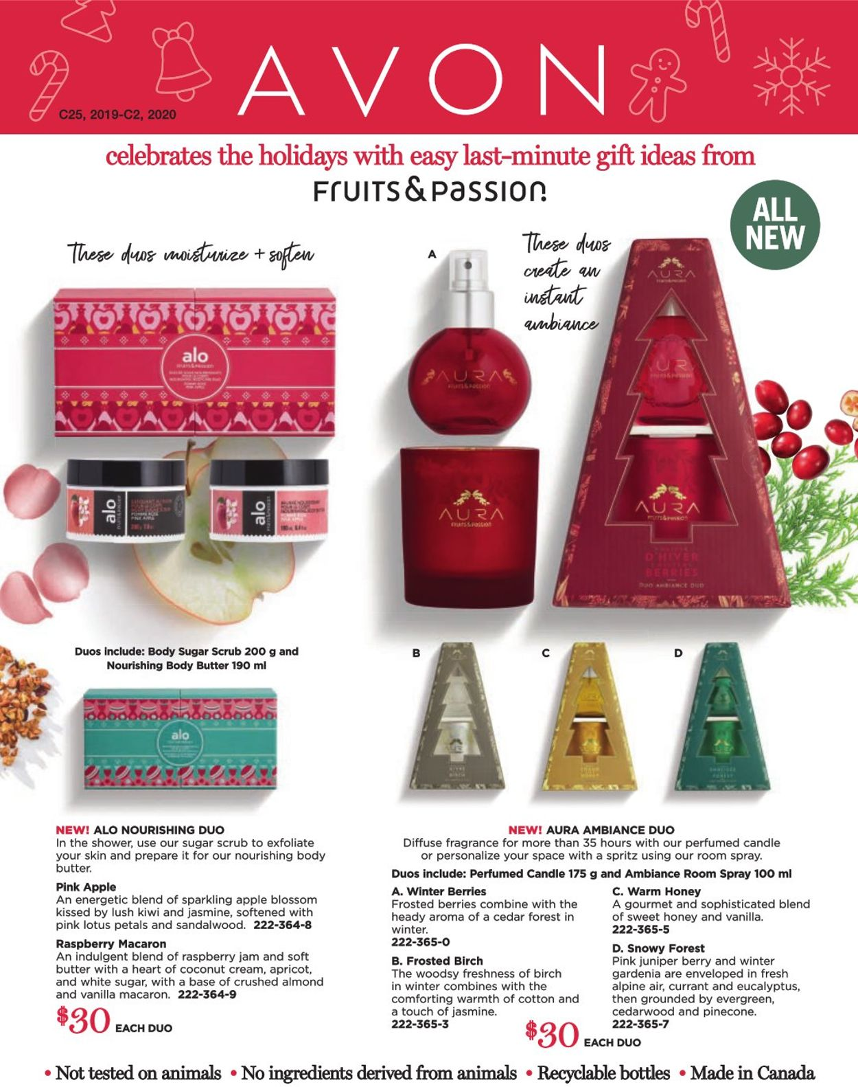 Avon Holiday Gift Guide 2019 Flyer - 11/18-12/24/2019