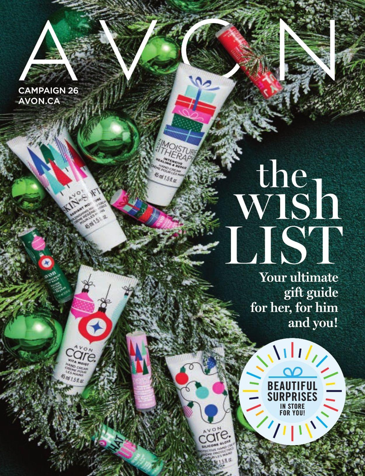 Avon - Holiday 2019 Flyer