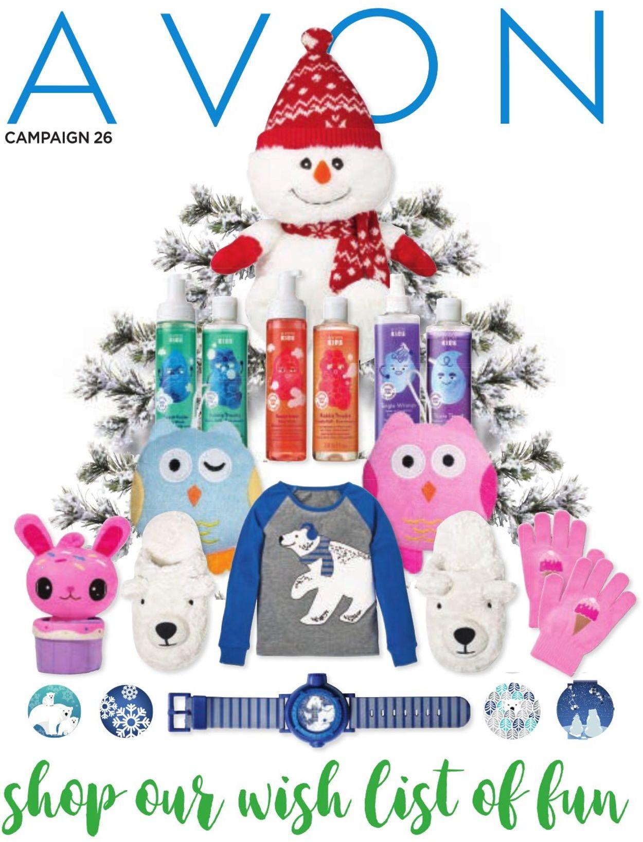 Avon - Holiday 2019 Flyer Flyer - 11/28-12/24/2019