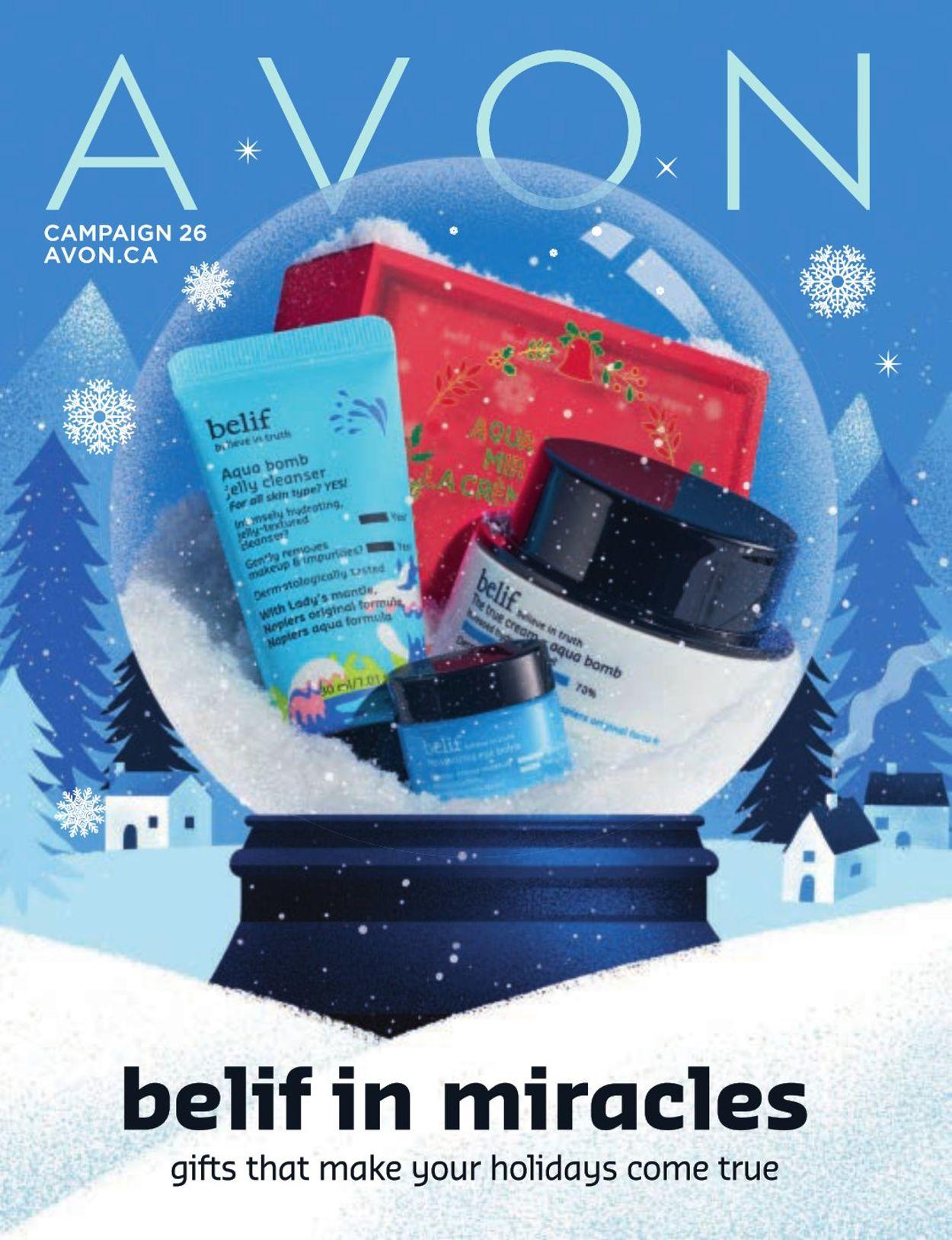 Avon - Holiday 2020 Flyer - 11/25-12/31/2020
