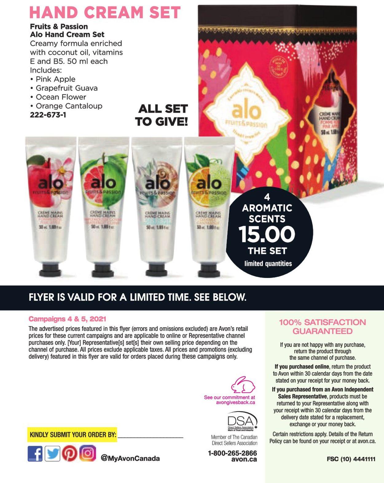 Avon Flyer - 01/20-02/28/2021 (Page 8)