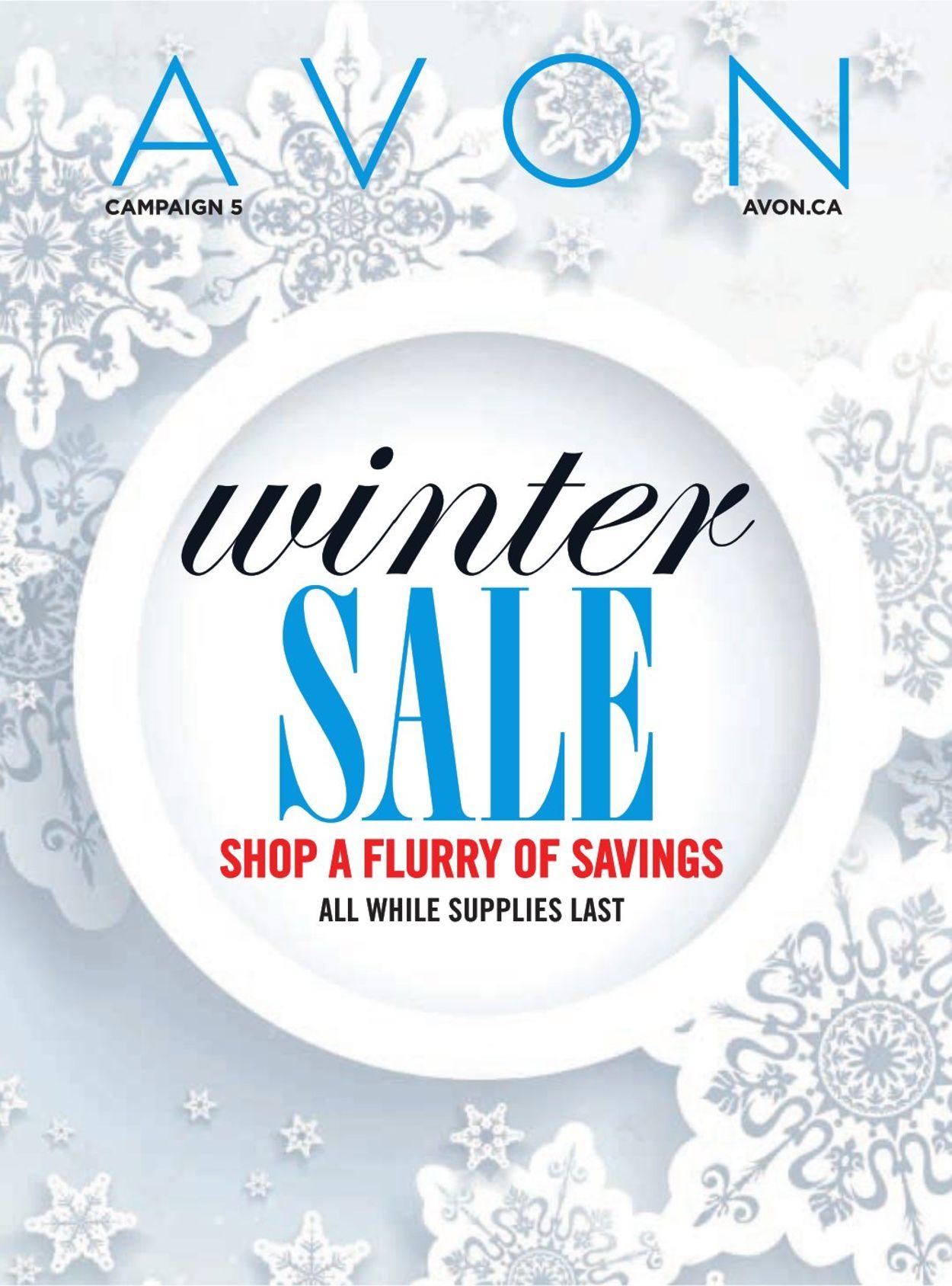 Avon - Winter Sale Flyer - 02/03-02/28/2021