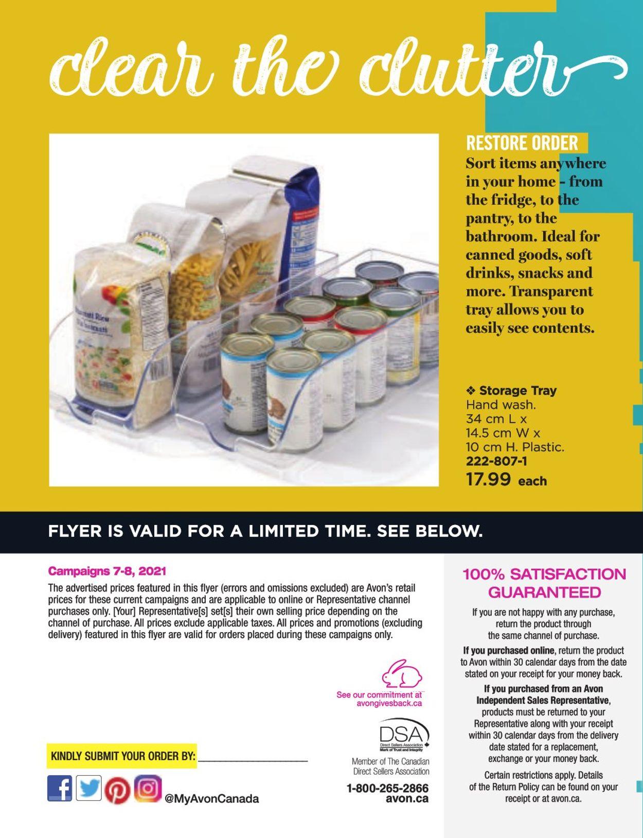Avon Flyer - 03/13-04/21/2021 (Page 8)