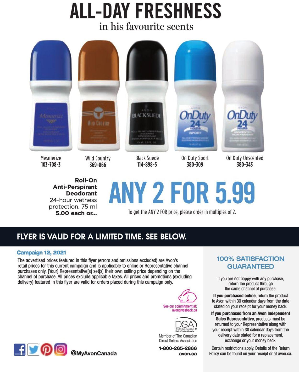 Avon Flyer - 05/01-06/30/2021 (Page 22)