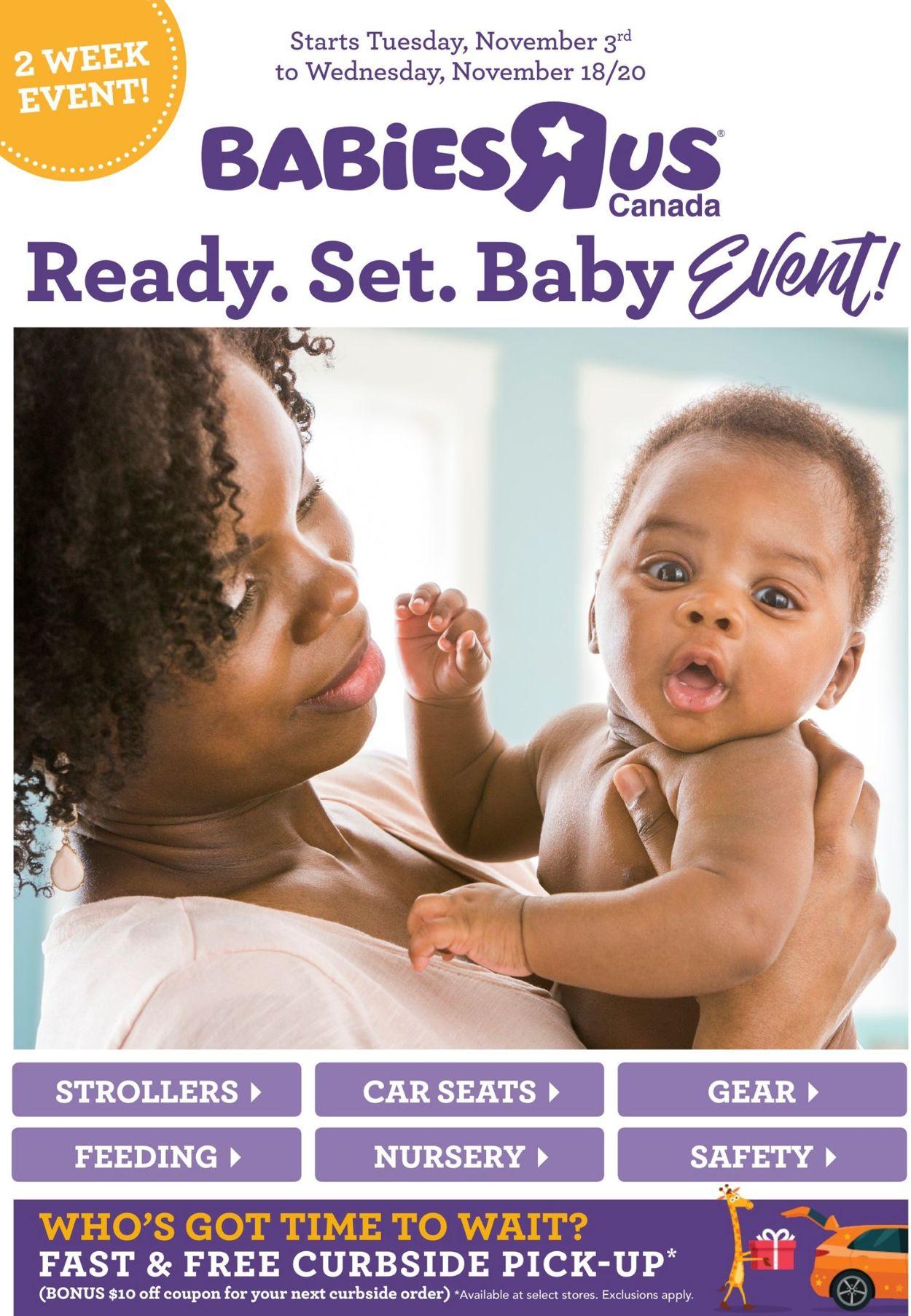 Babies''R''Us Flyer - 11/03-11/18/2020