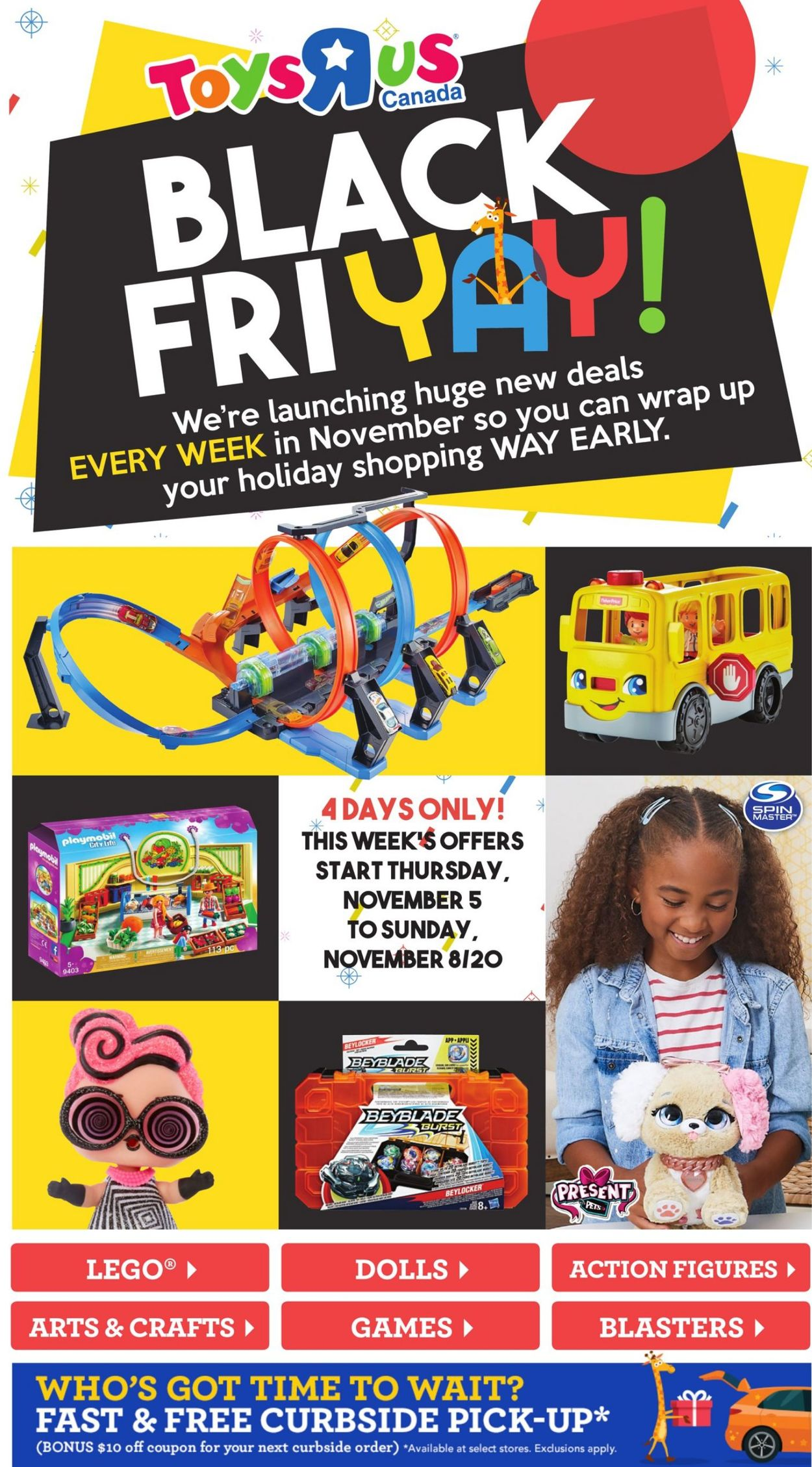 Babies''R''Us - Black Friday 2020 Flyer - 11/05-11/08/2020