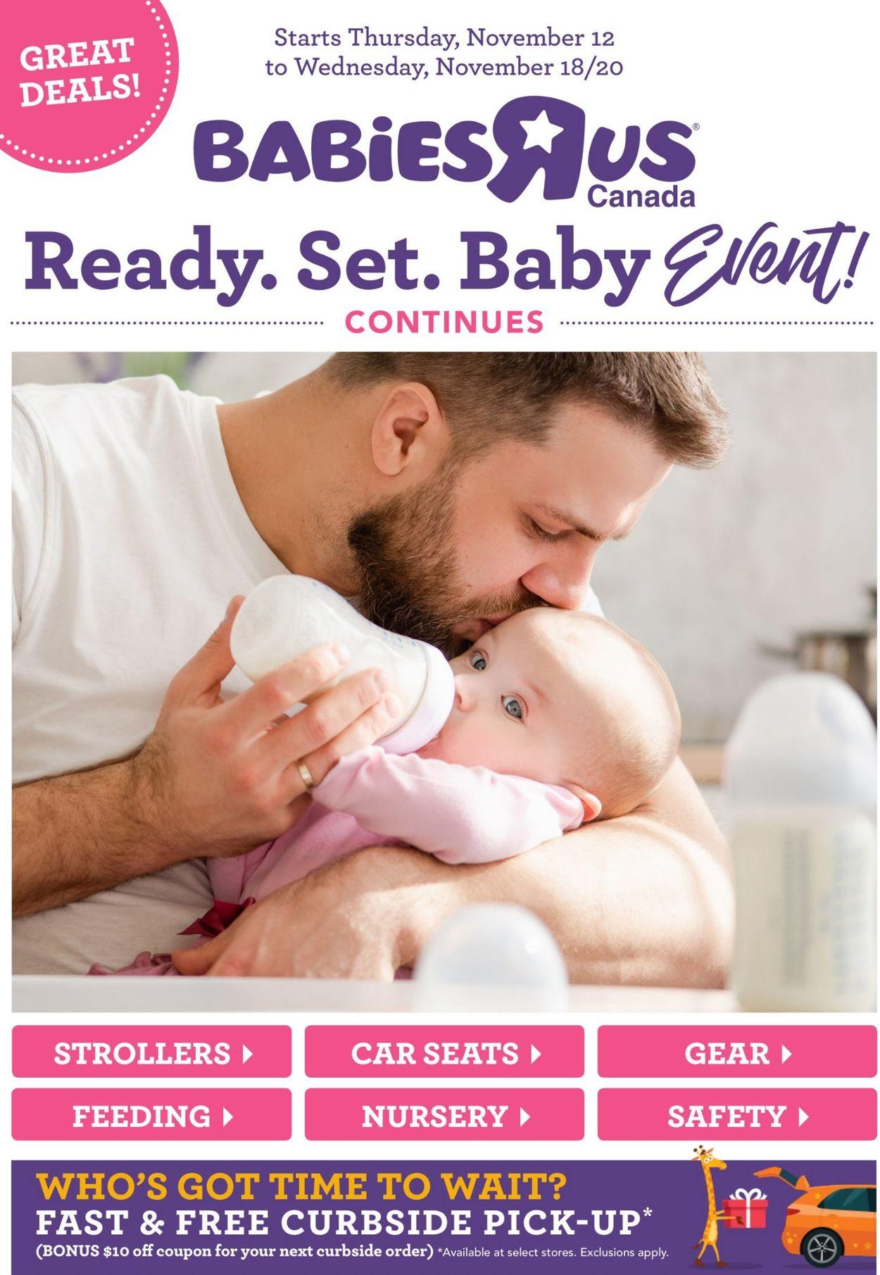 Babies''R''Us Flyer - 11/12-11/18/2020