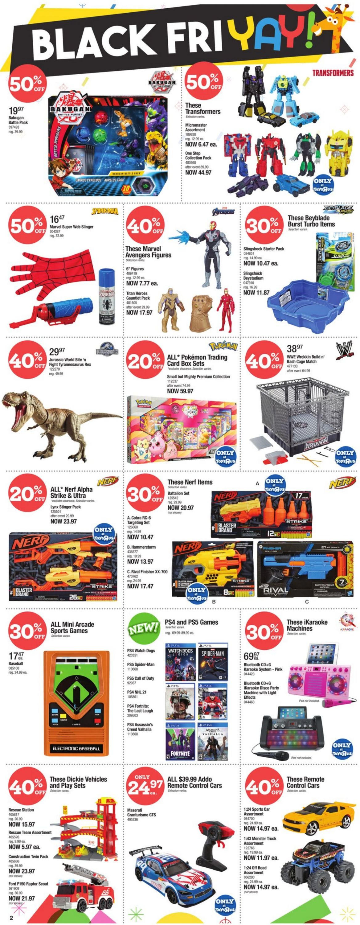 Babies''R''Us - Black Friday 2020 Flyer - 11/19-11/25/2020 (Page 2)