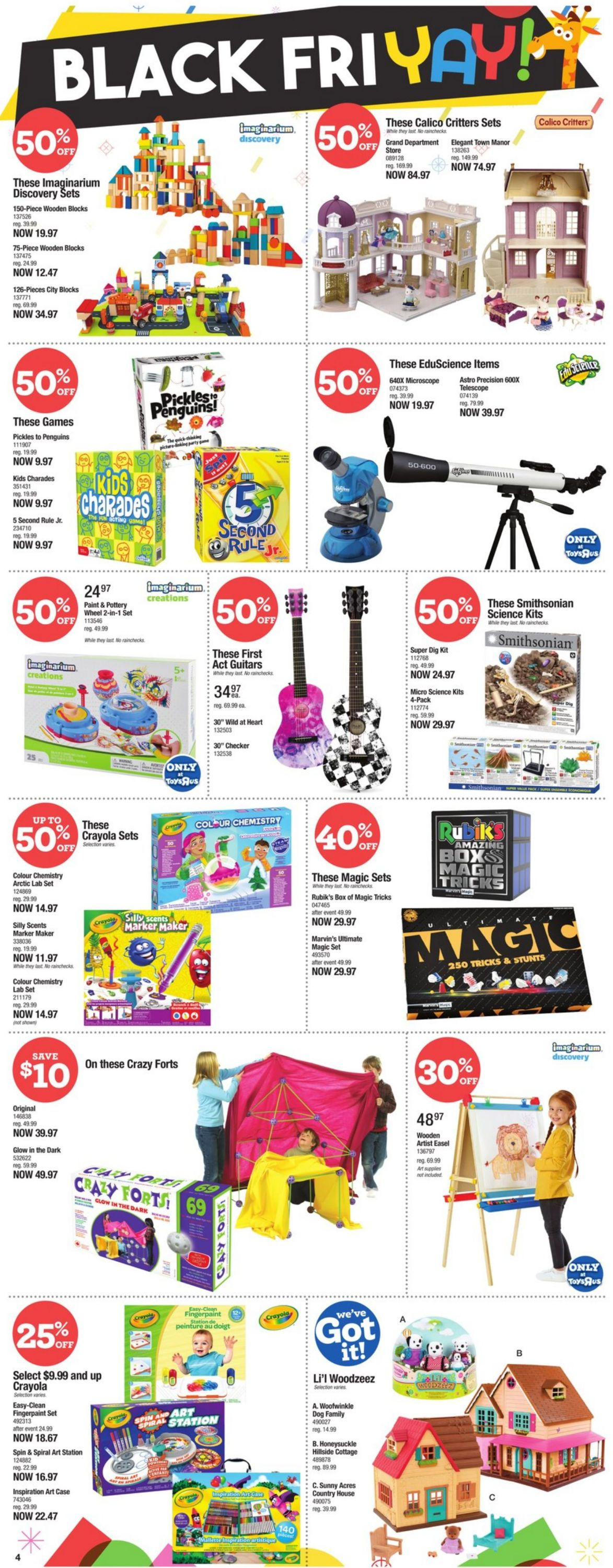 Babies''R''Us - Black Friday 2020 Flyer - 11/19-11/25/2020 (Page 4)
