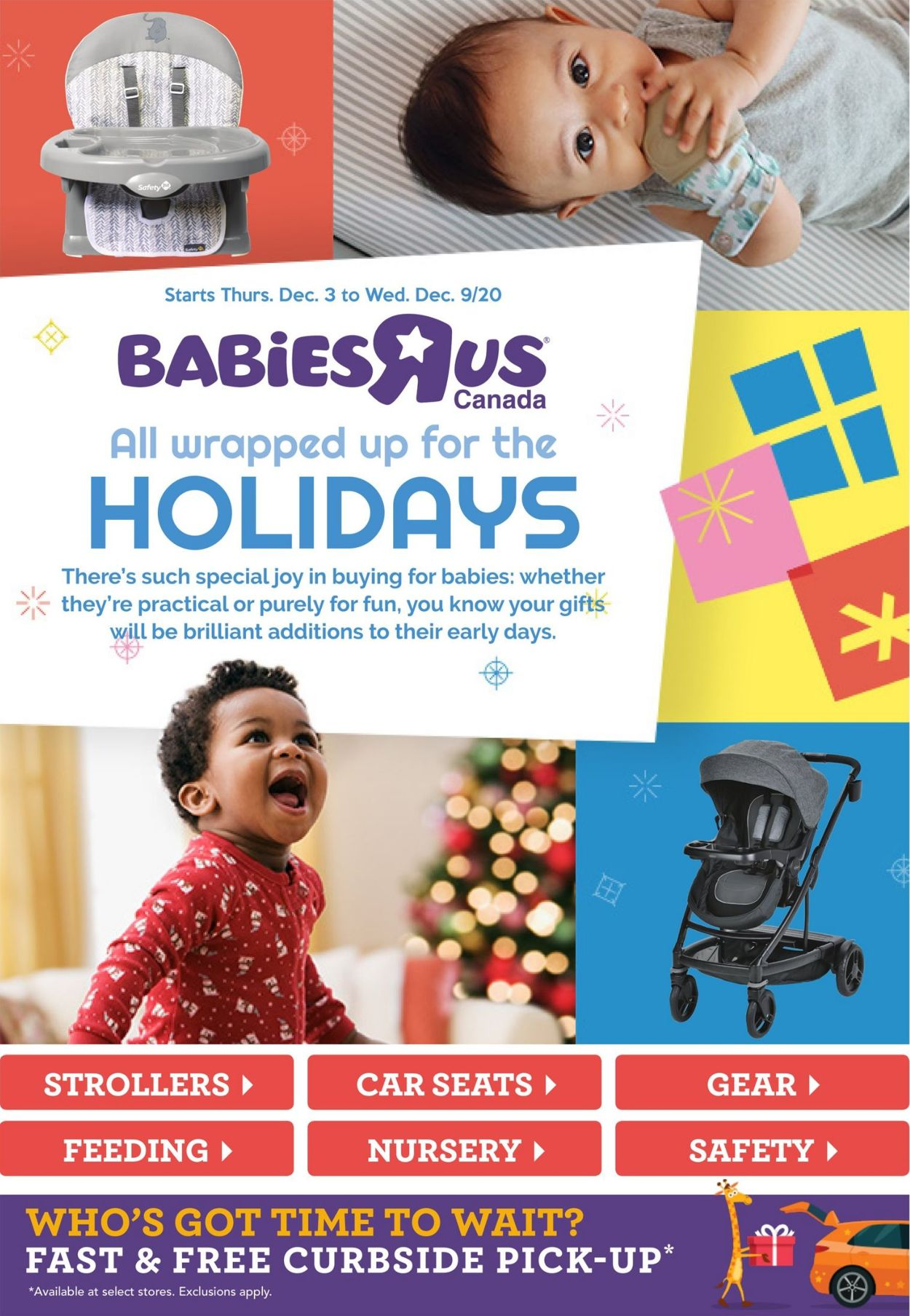 Babies''R''Us - Holiday 2020 Flyer - 12/03-12/09/2020