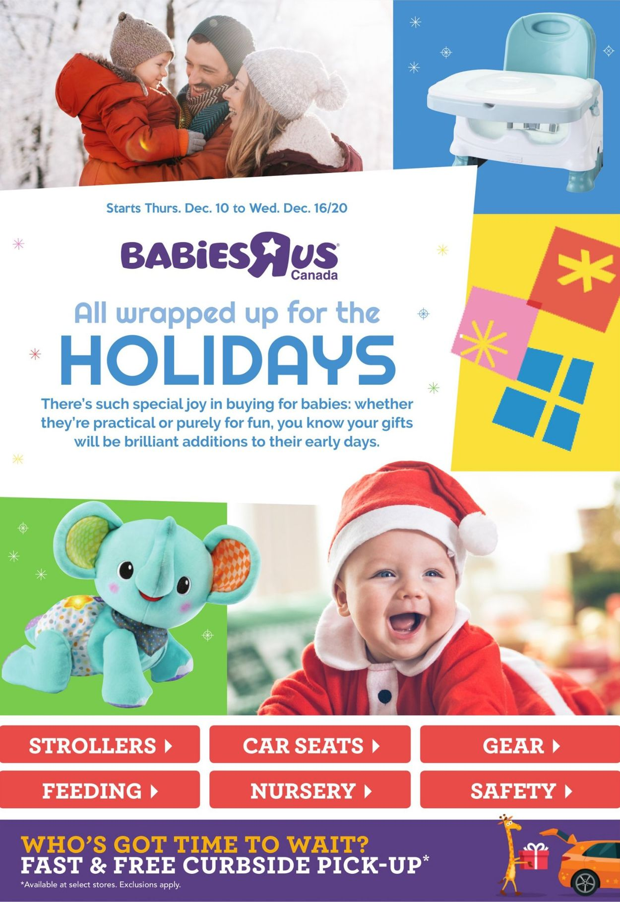 Babies''R''Us - Holiday 2020 Flyer - 12/10-12/16/2020