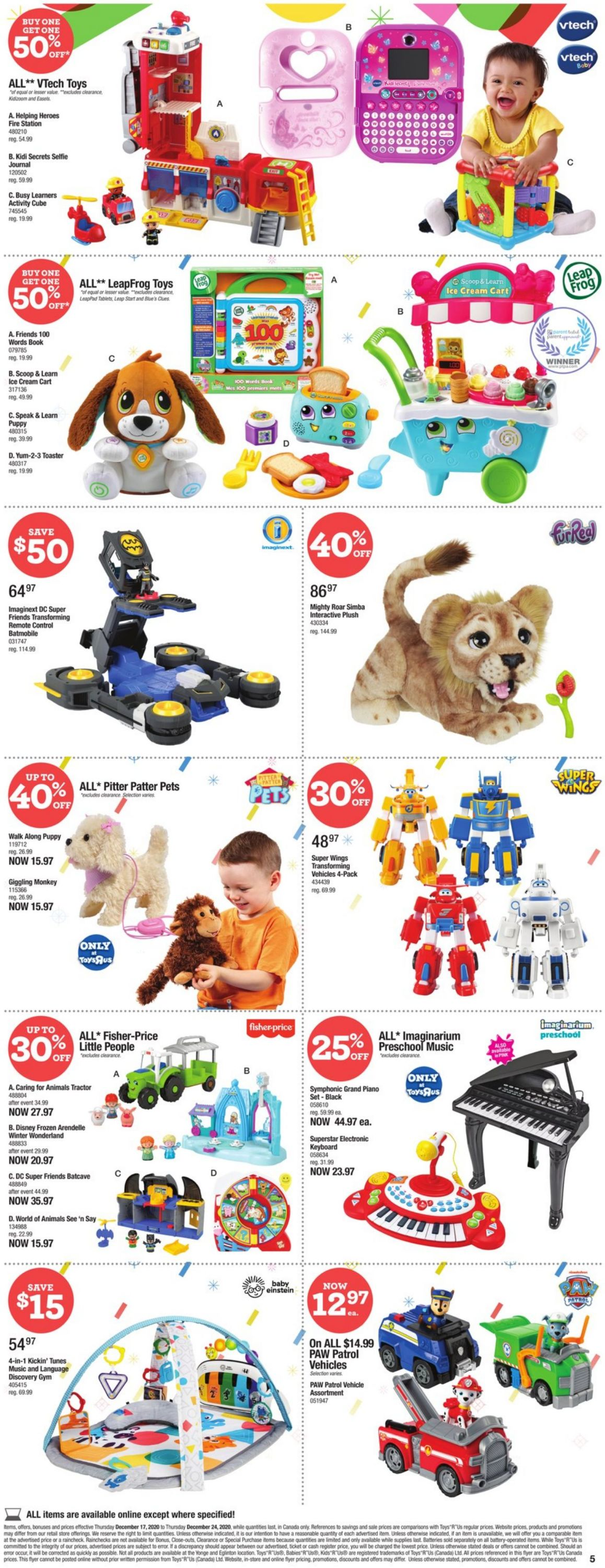 Babies''R''Us - Holiday 2020 Flyer - 12/17-12/24/2020 (Page 6)