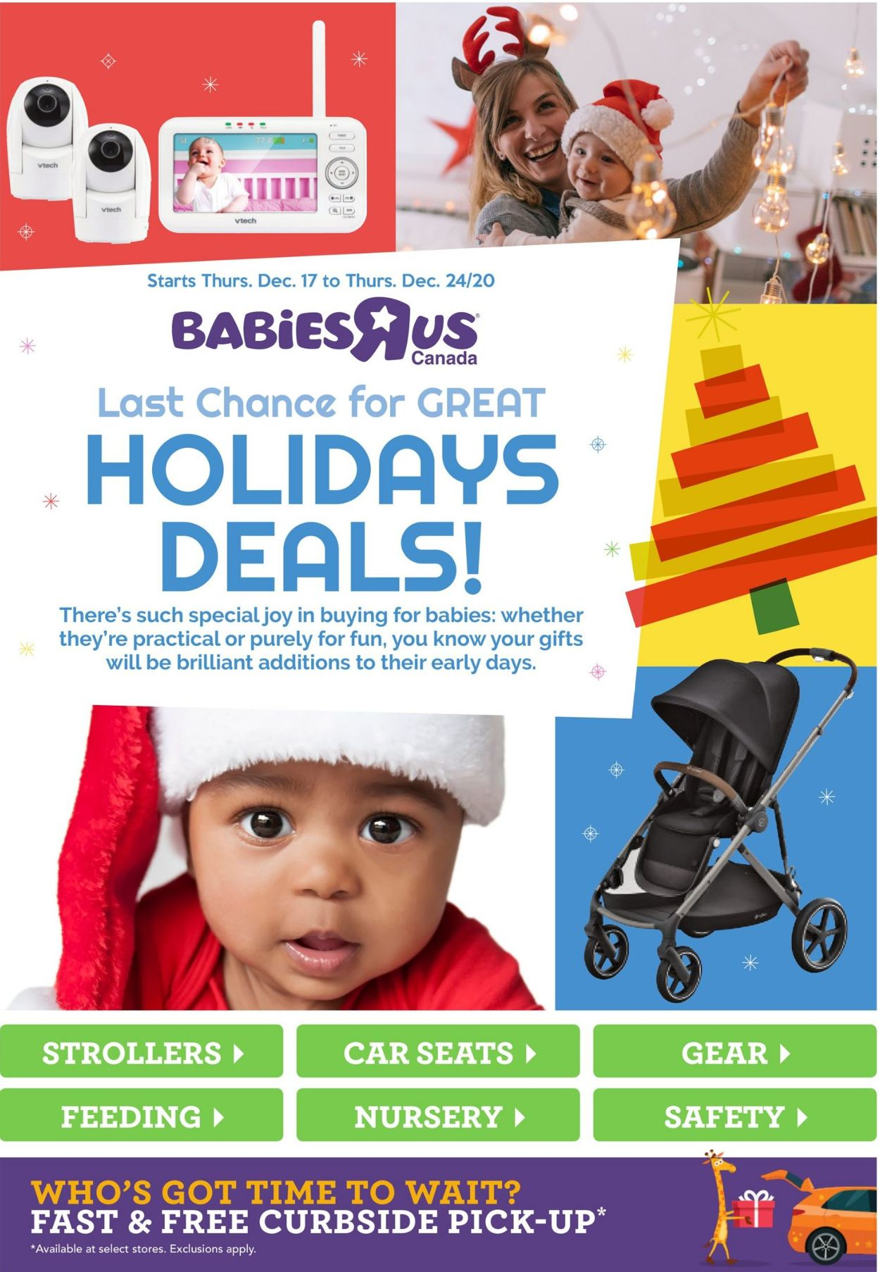 Babies''R''Us - Holiday 2020 Flyer - 12/17-12/24/2020