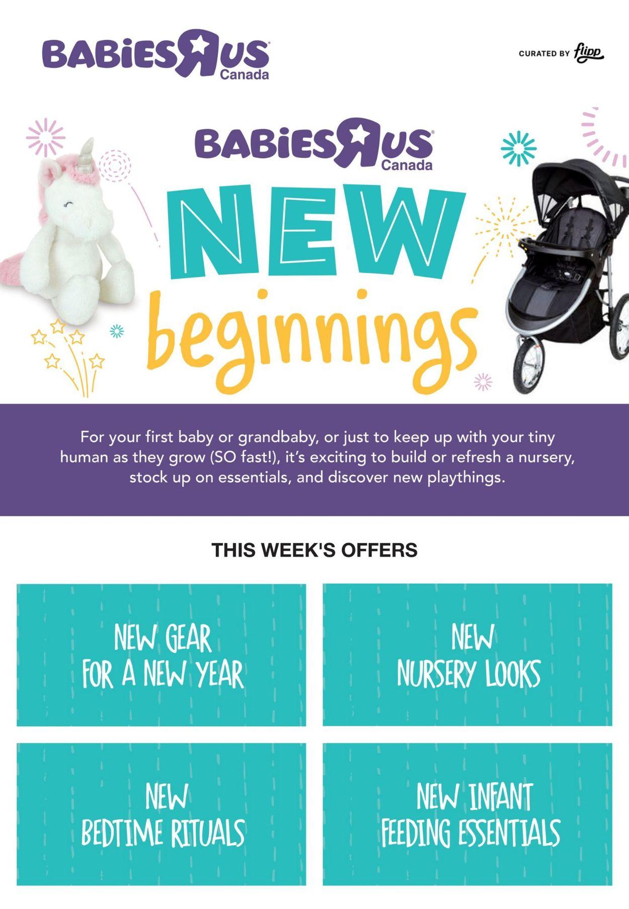 Babies''R''Us Flyer - 01/07-01/13/2021