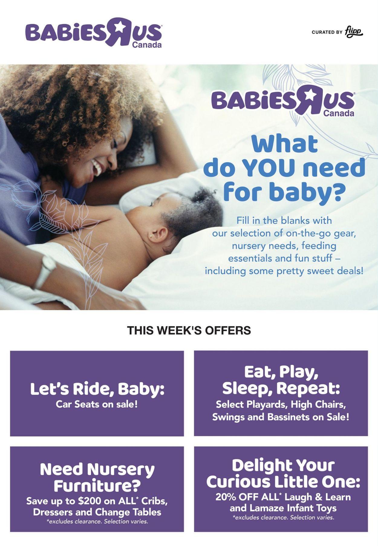 Babies''R''Us Flyer - 02/25-03/03/2021