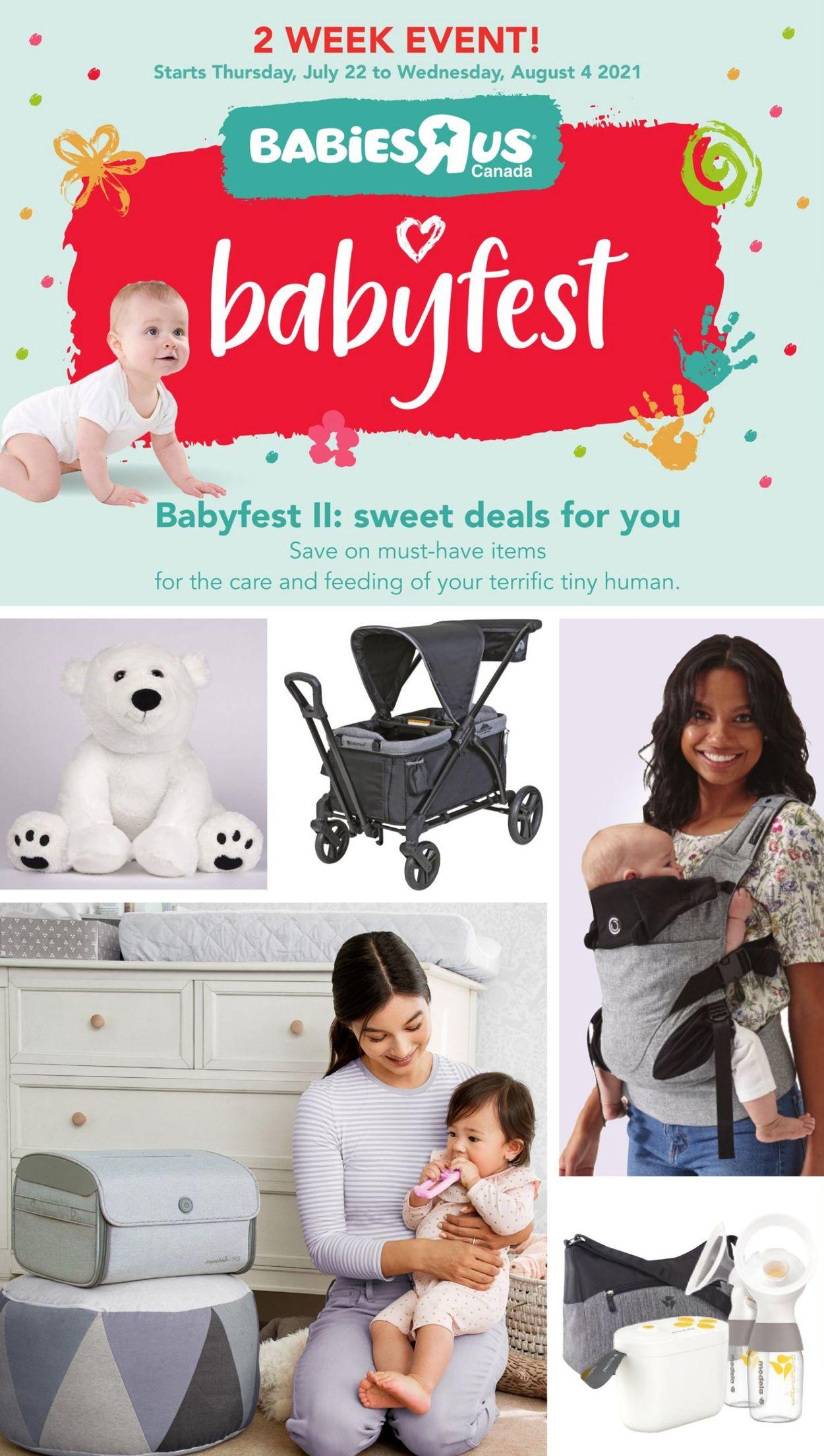 Babies''R''Us Flyer - 07/22-08/04/2021