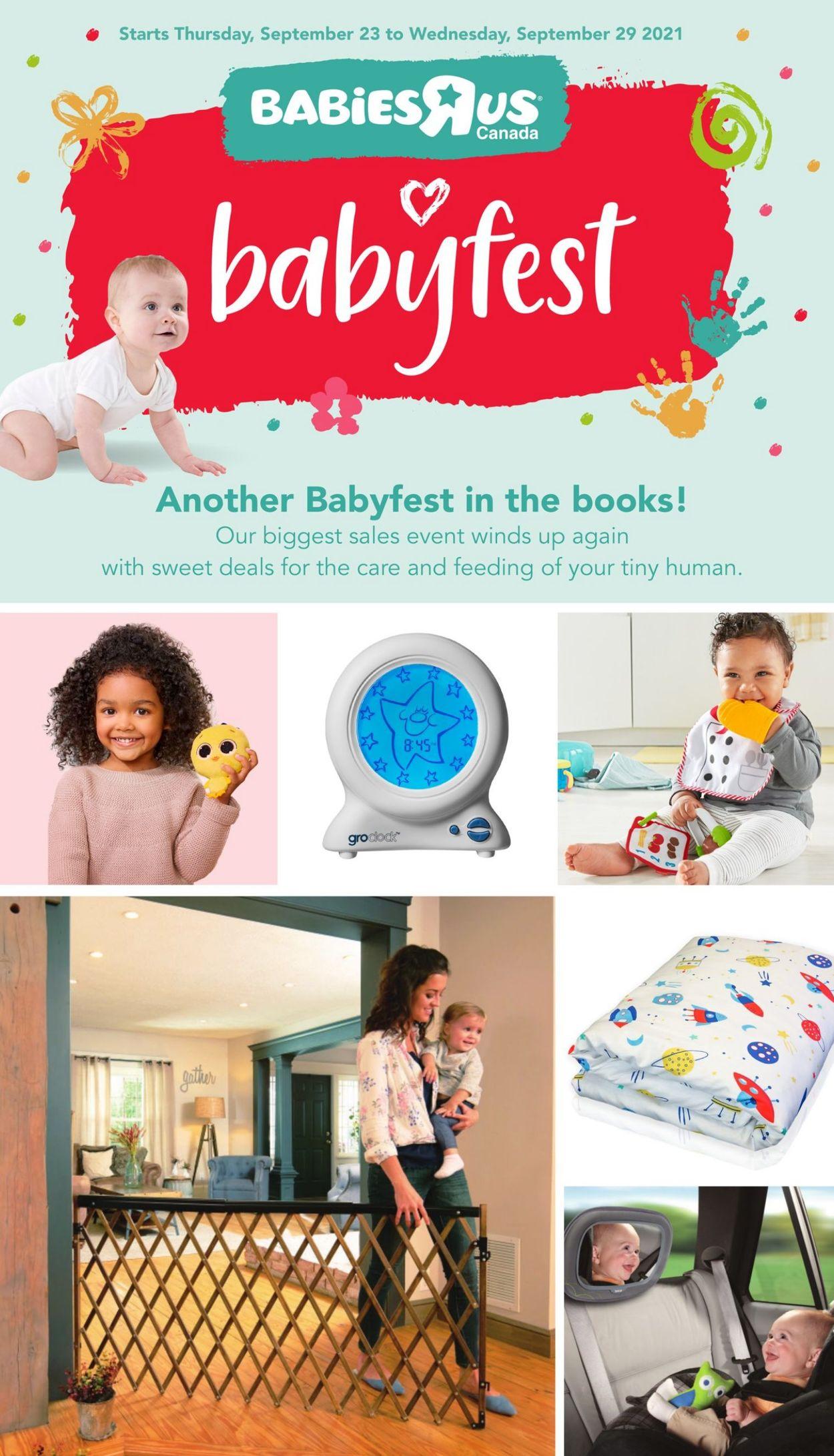 Babies''R''Us Flyer - 09/23-09/29/2021
