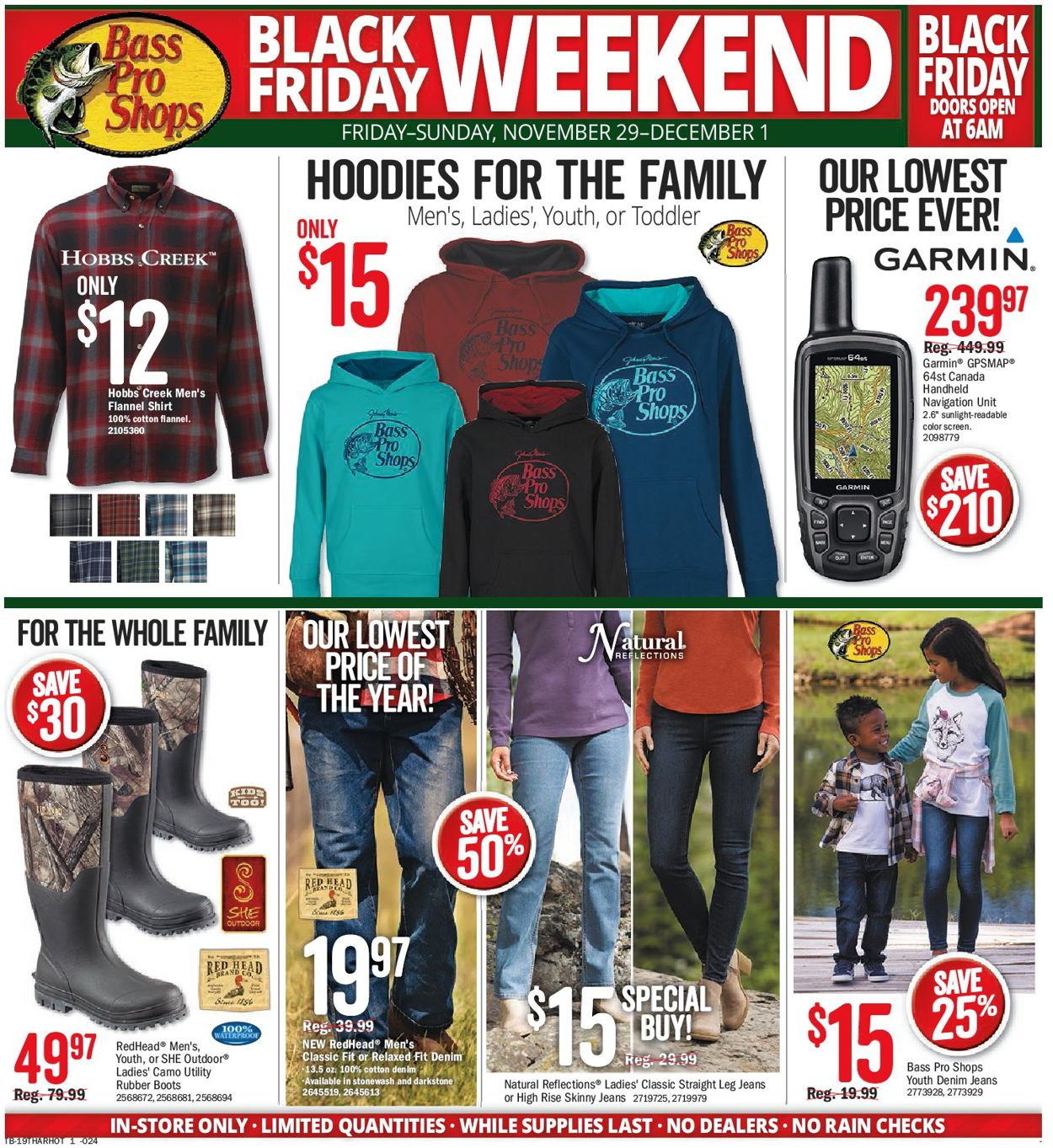 Bass Pro - Black Friday Flyer 2019 Flyer - 11/27-12/01/2019