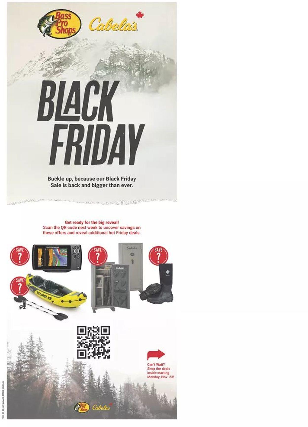 Bass Pro - Black Friday 2020 Flyer - 11/23-12/02/2020