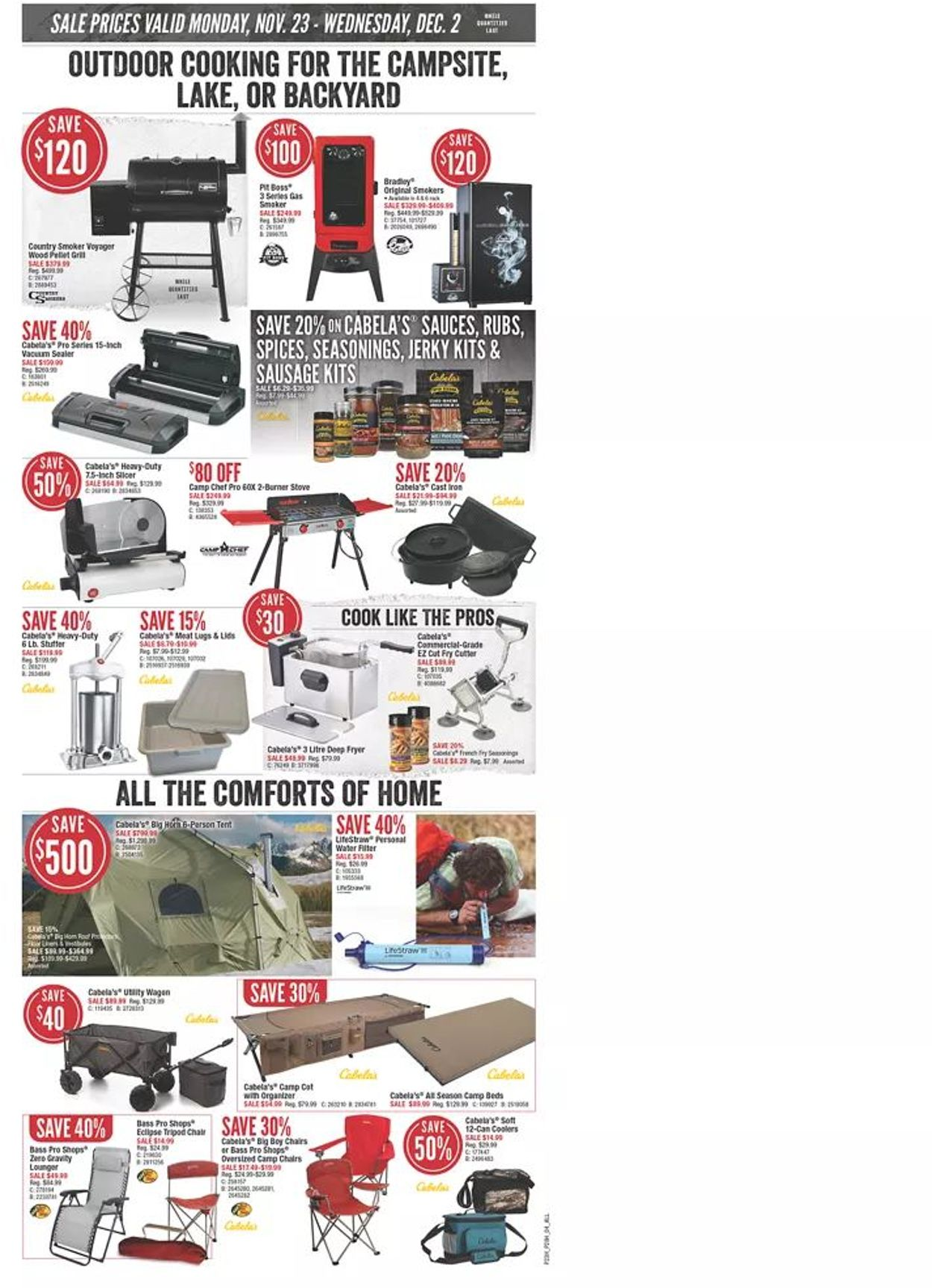 Bass Pro - Black Friday 2020 Flyer - 11/23-12/02/2020 (Page 4)