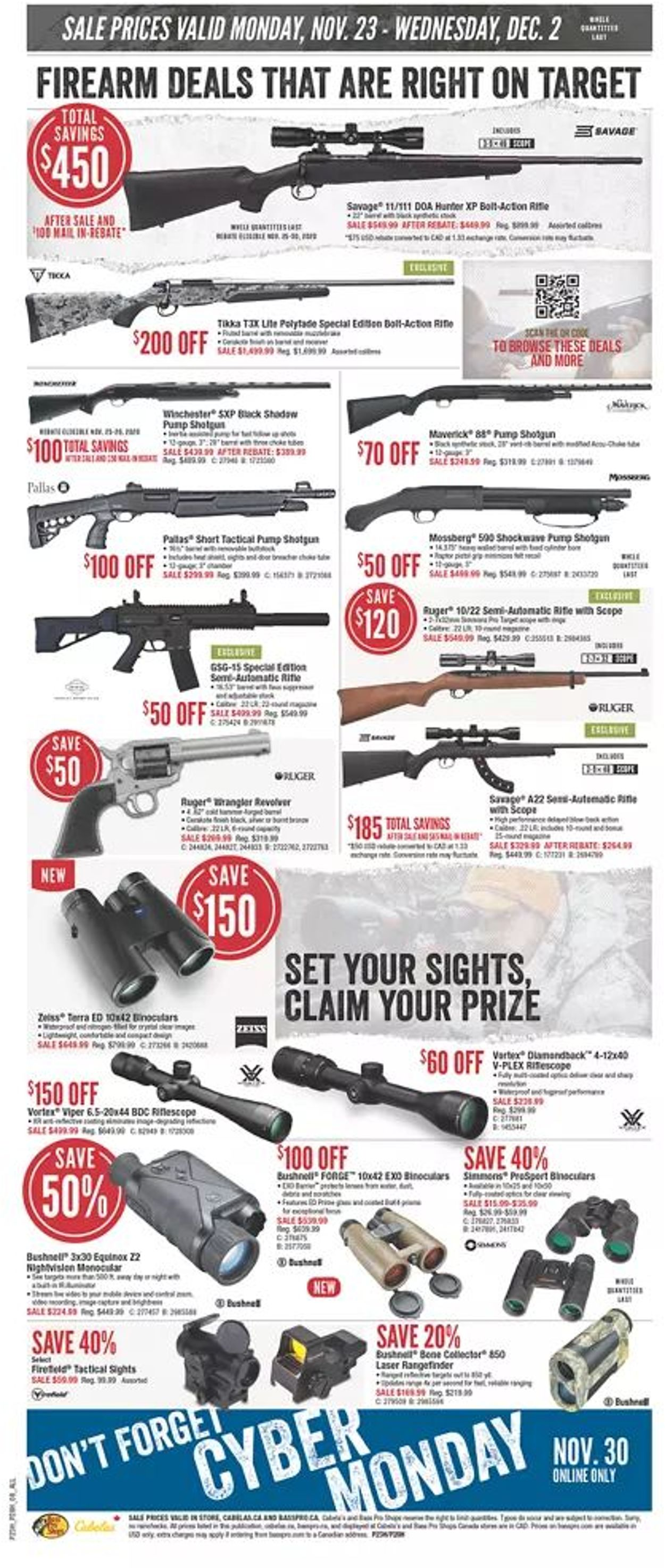 Bass Pro - Black Friday 2020 Flyer - 11/23-12/02/2020 (Page 8)