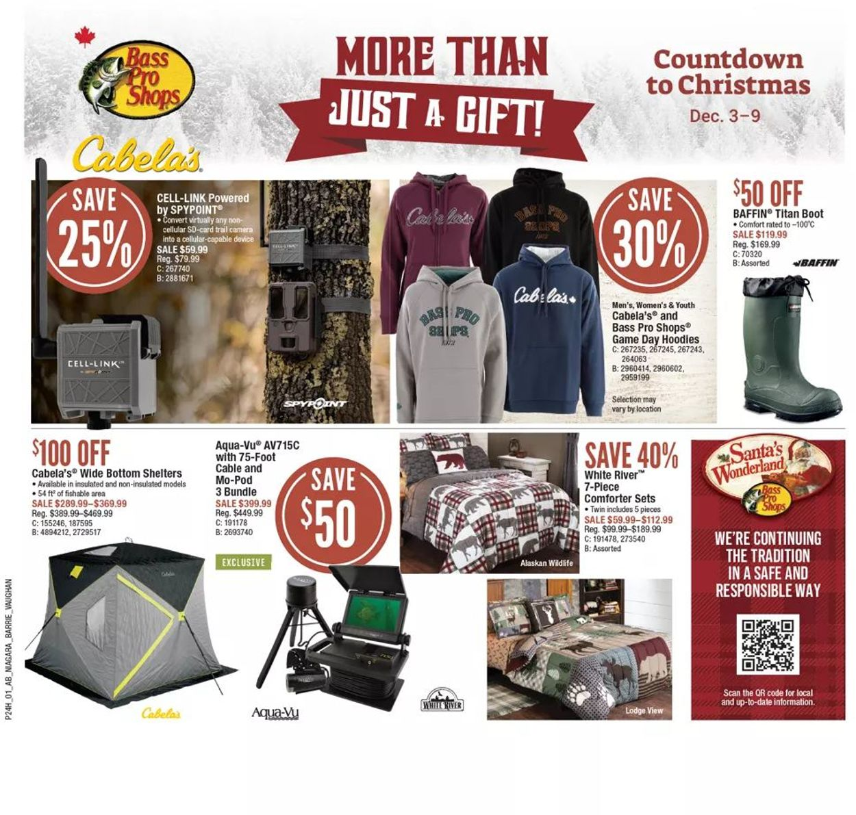 Bass Pro - Holiday 2020 Flyer - 12/03-12/09/2020
