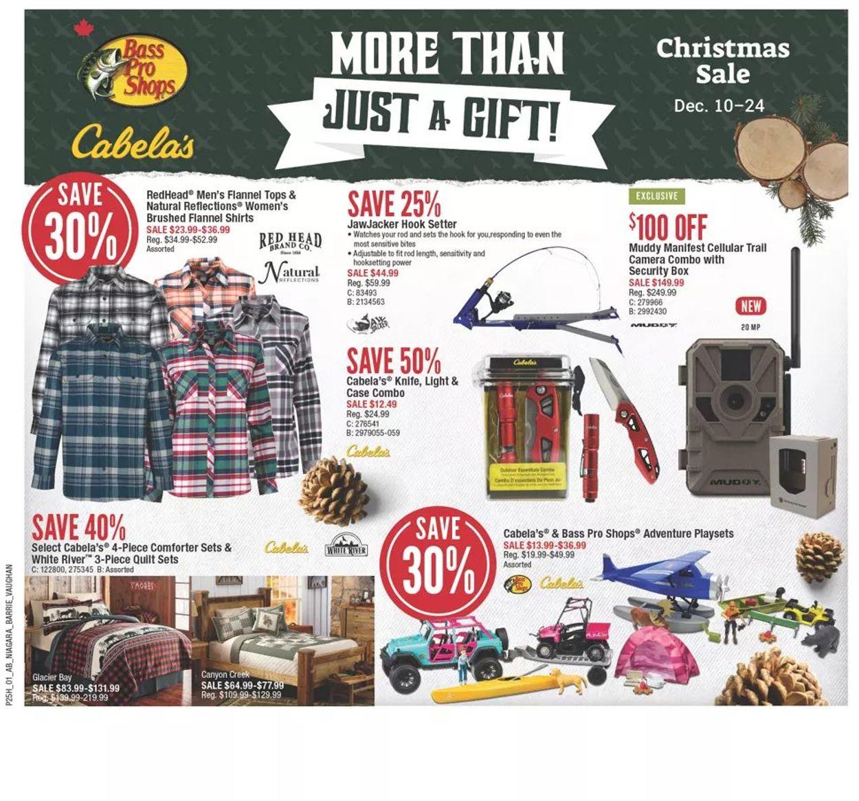 Bass Pro - Christmas Sale 2020 Flyer - 12/10-12/16/2020