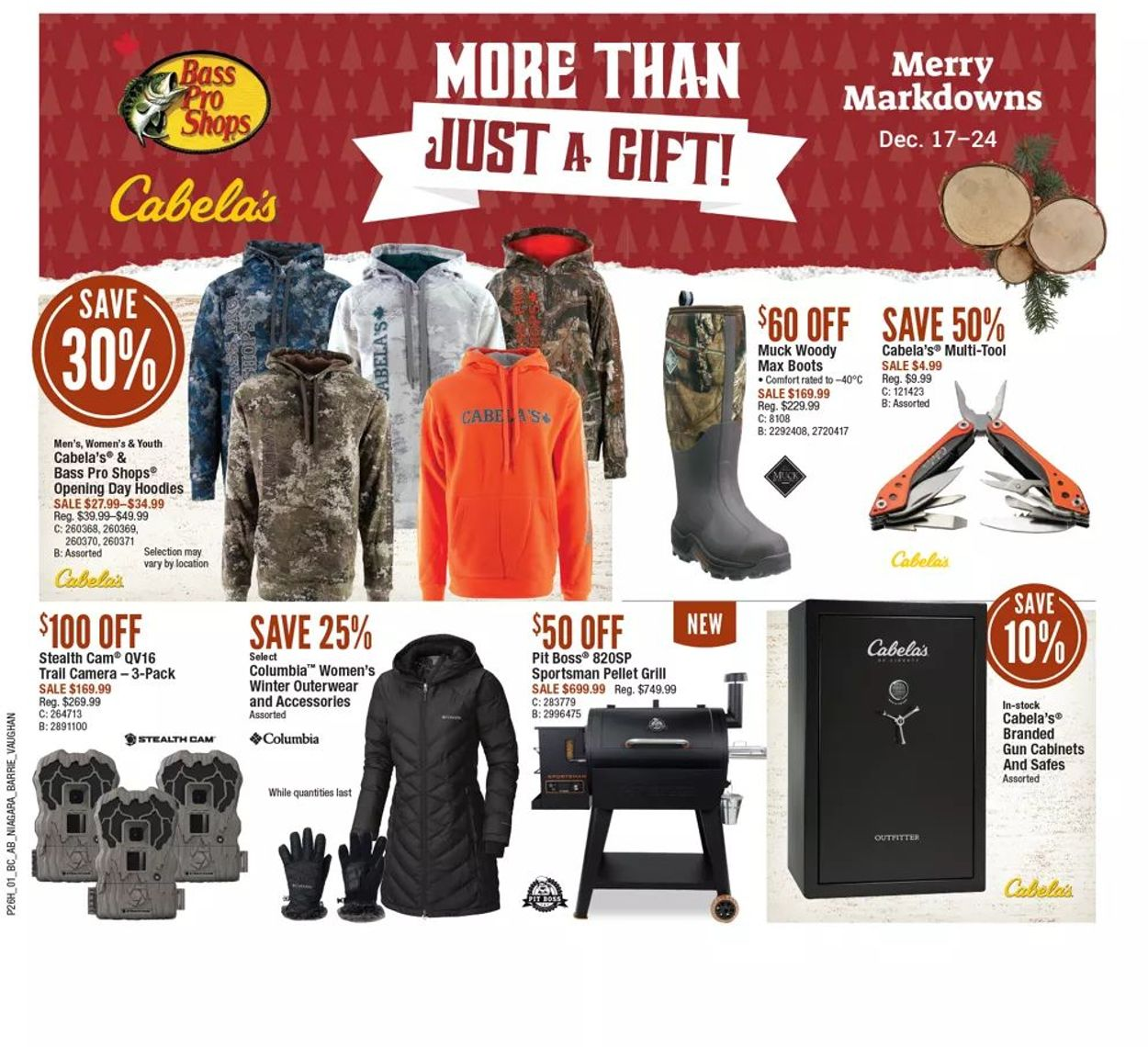Bass Pro - Holiday 2020 Flyer - 12/17-12/24/2020