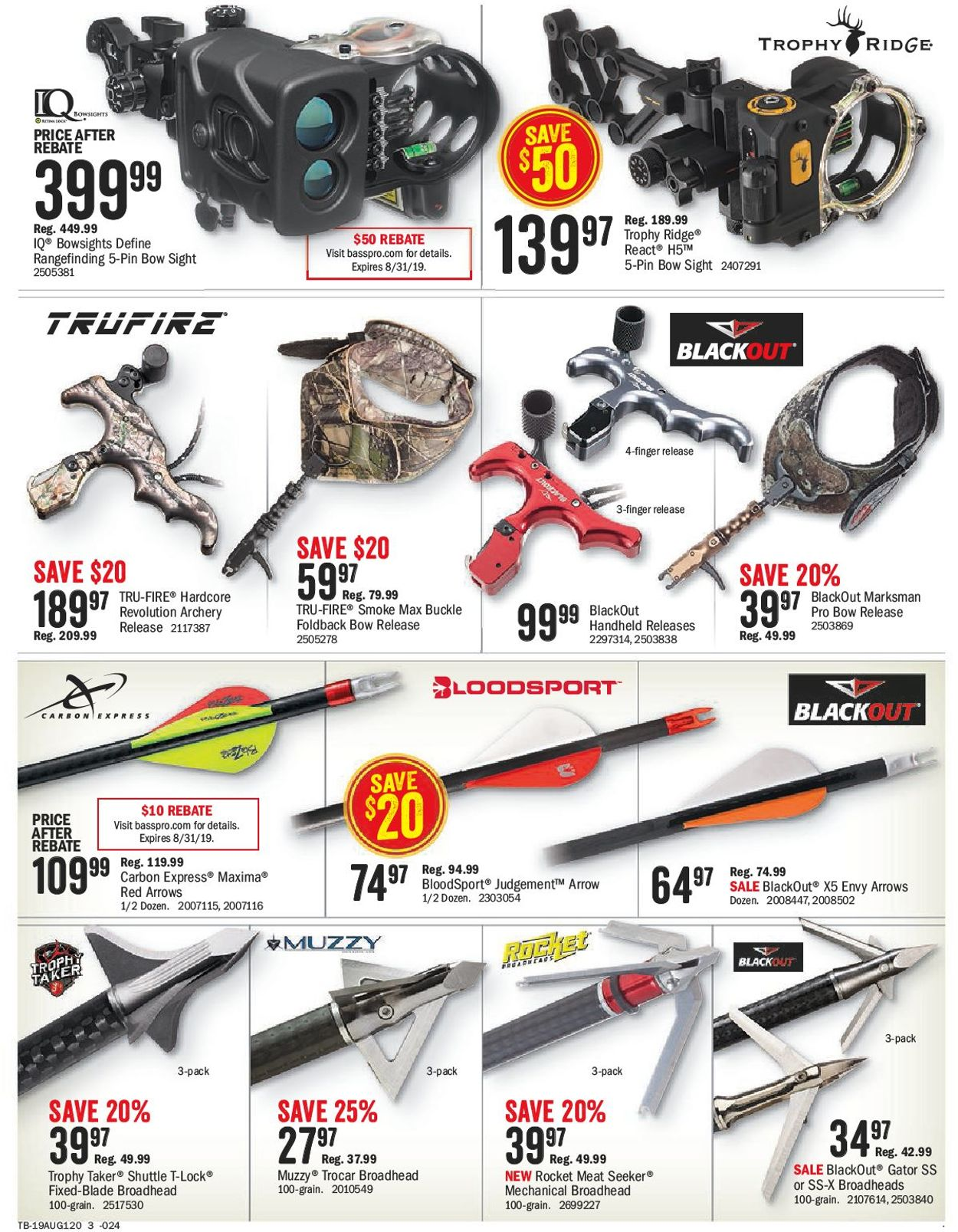 Bass Pro Flyer - 07/26-08/11/2019 (Page 3)