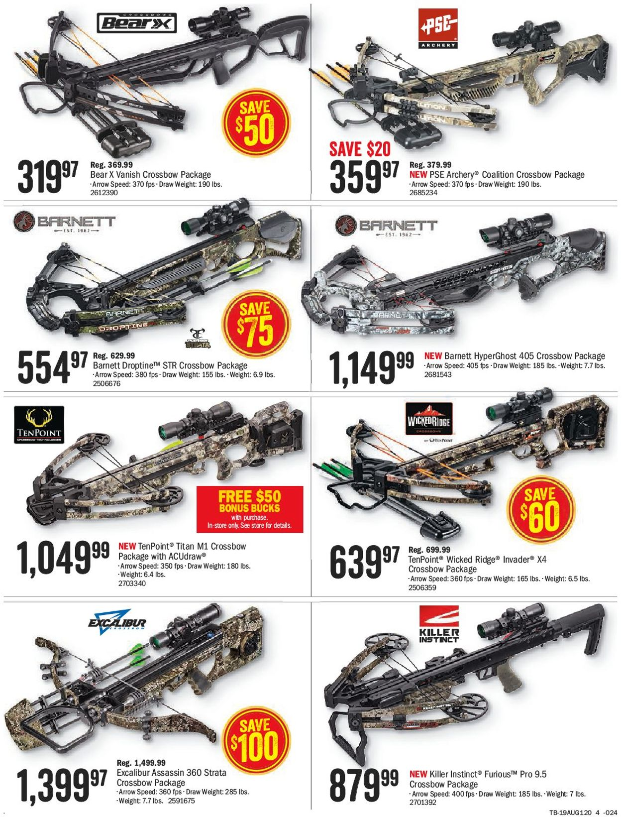 Bass Pro Flyer - 07/26-08/11/2019 (Page 4)