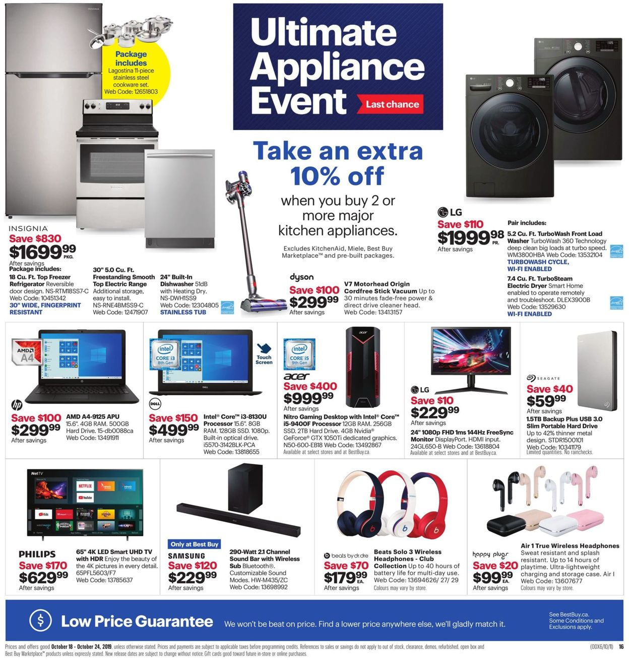 Best Buy Flyer - 10/18-10/24/2019