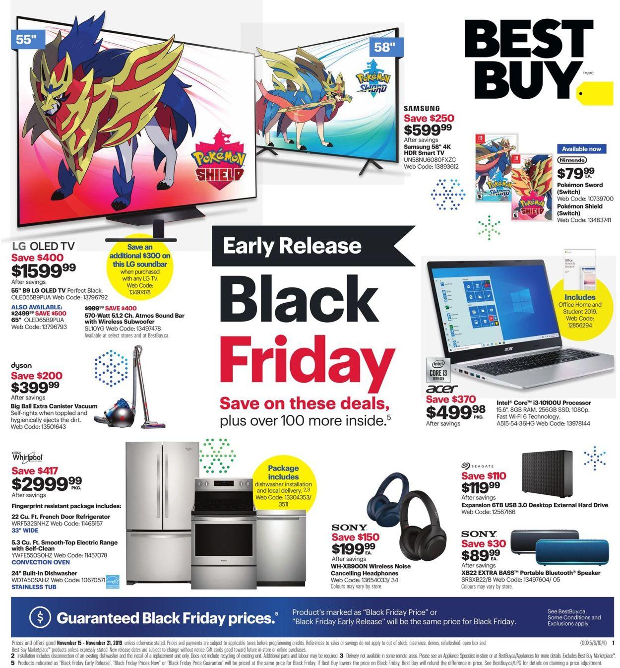 Best Buy - Early Black Friday Flyer 2019