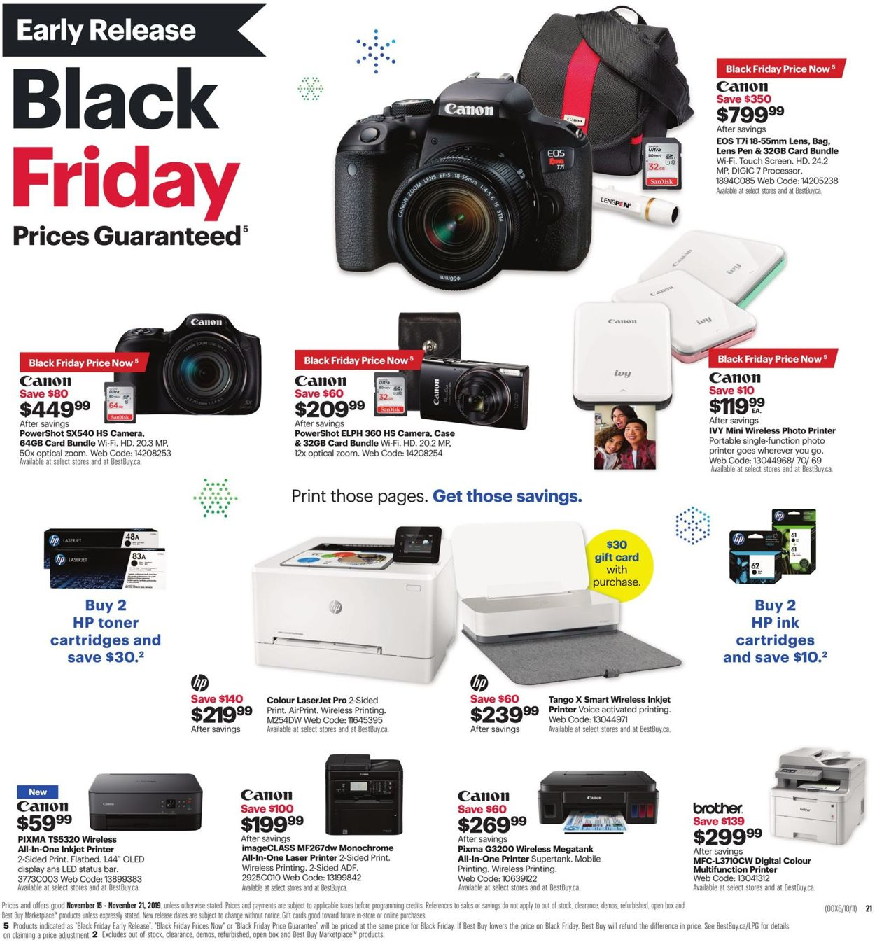 Best Buy - Early Black Friday Flyer 2019 Flyer - 11/15-11/21/2019 (Page 36)