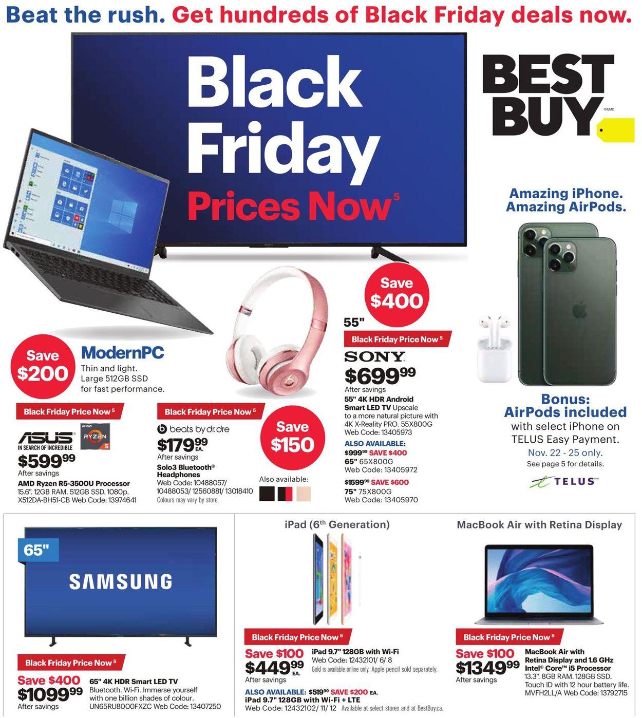 Best Buy - Black Friday Flyer 2019 Flyer - 11/22-11/28/2019