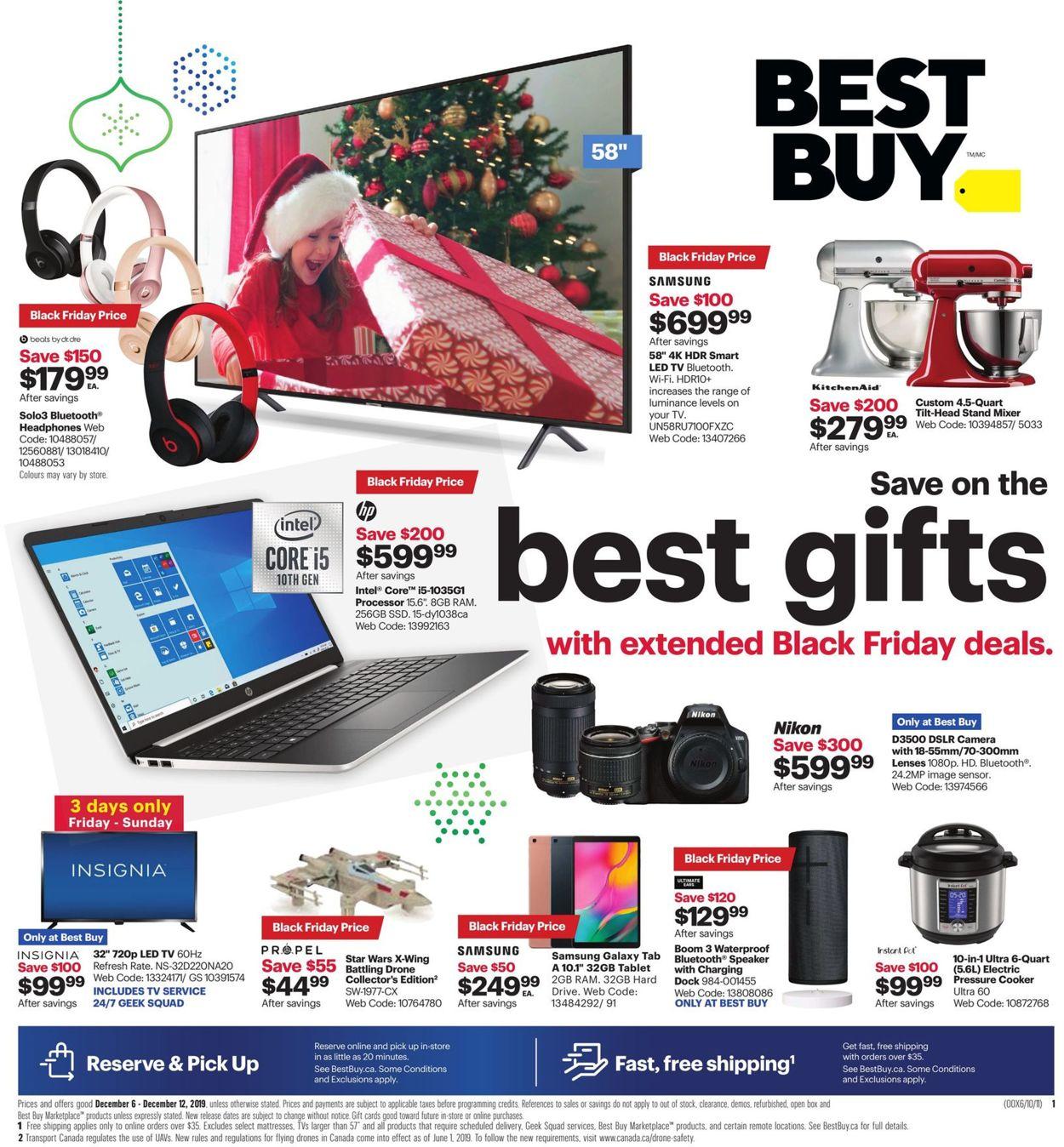Best Buy - Black Friday Flyer 2019 Flyer - 12/06-12/12/2019