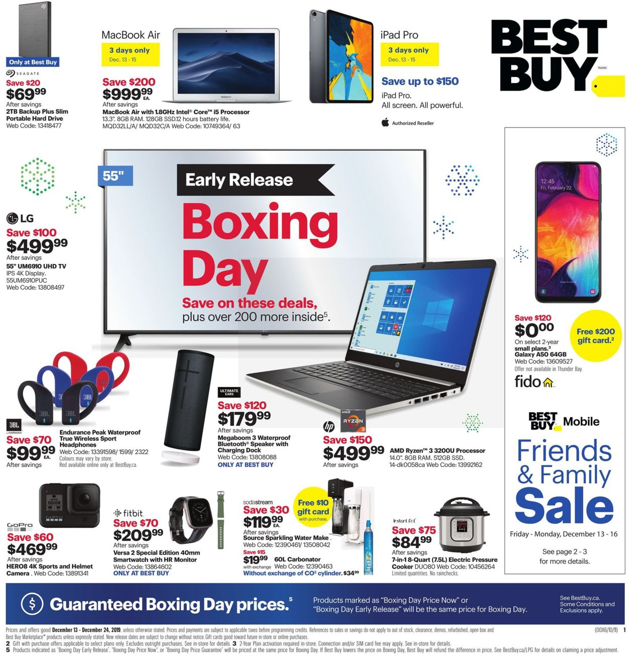 Best Buy - HOLIDAY 2019 FLYER Flyer - 12/13-12/24/2019