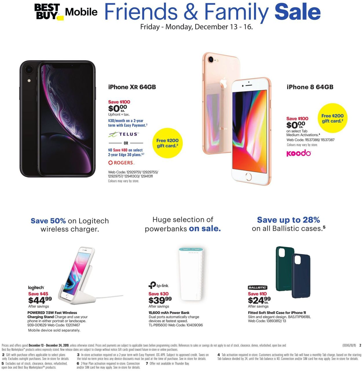 Best Buy - HOLIDAY 2019 FLYER Flyer - 12/13-12/24/2019 (Page 4)